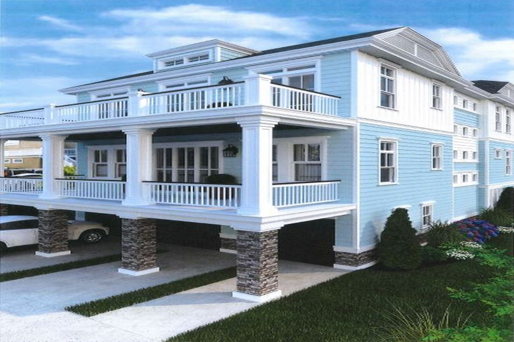townhouses for Sale at 106 A S 16th Ave Longport, New Jersey 08403 United States