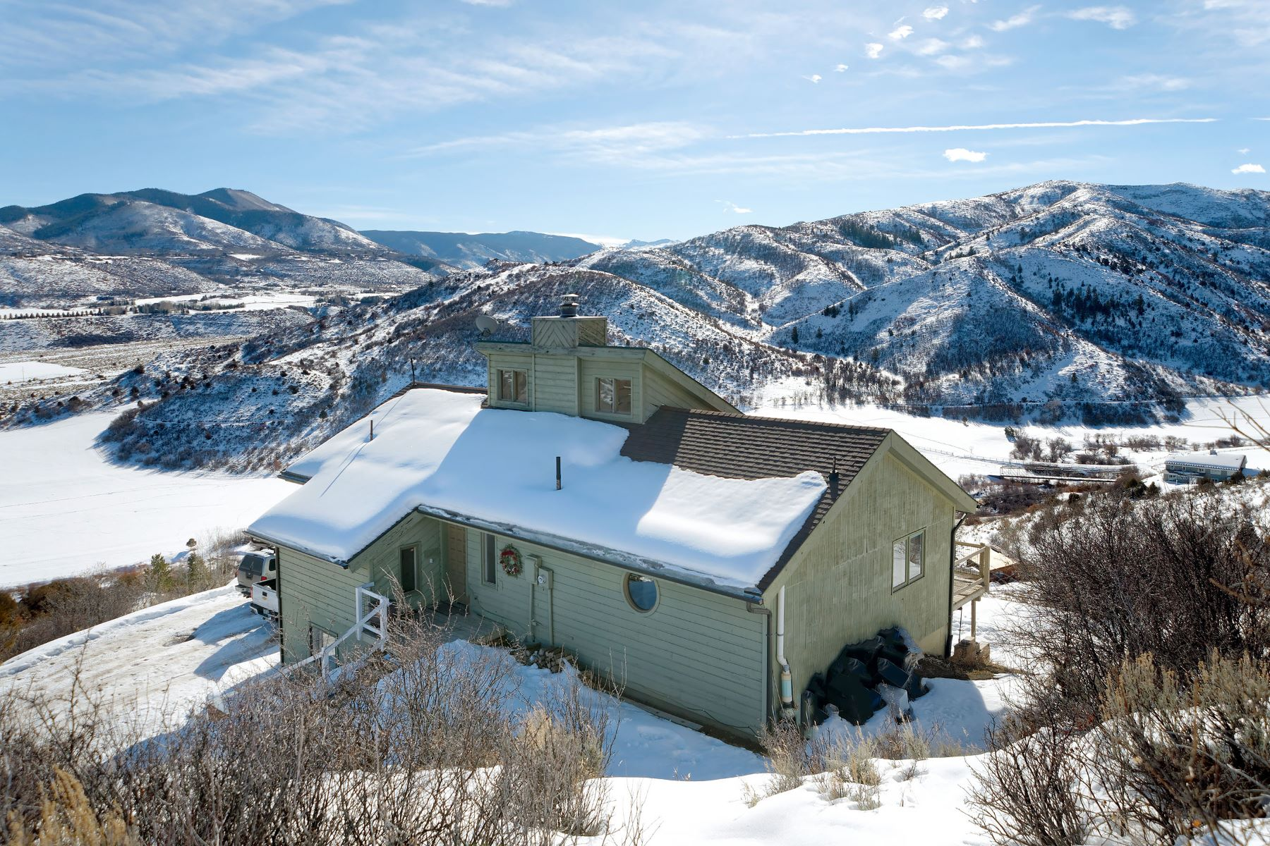 단독 가정 주택 용 매매 에 Panoramic Elk Mountain Views from Lenado to Snowmass 91 Solar Way Aspen, 콜로라도, 81611 미국