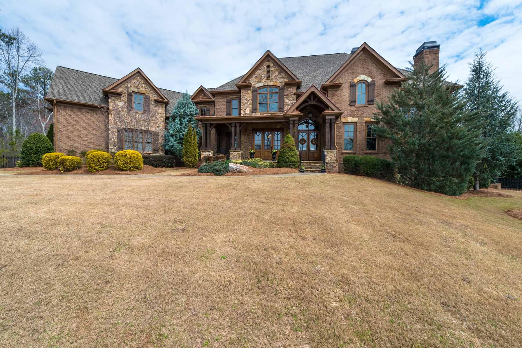 Casa Unifamiliar por un Venta en An Extraordinary Home 14013 Tree Loft Road Milton, Georgia, 30004 Estados Unidos