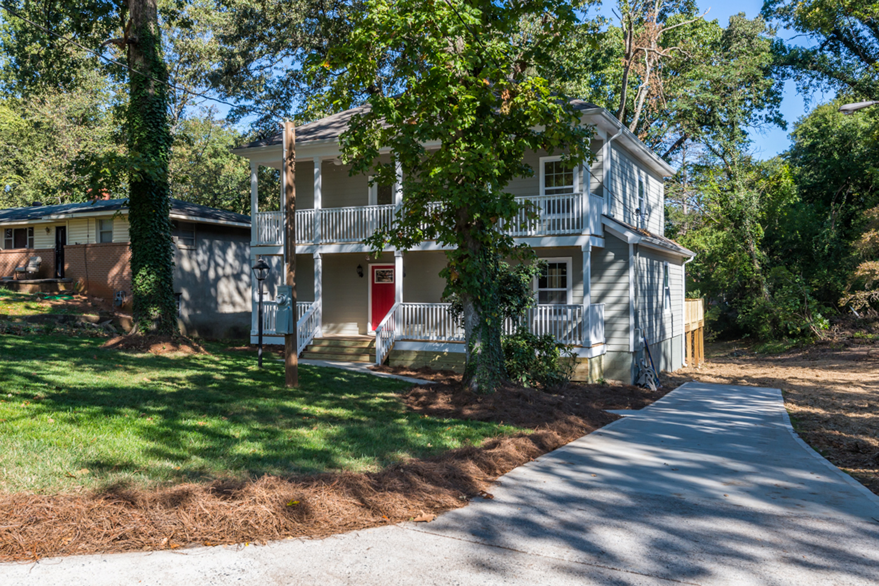 Single Family Home for Sale at Renovated Charmer In Popular West Midtown Area 1871 Francis Ave Atlanta, Georgia 30318 United States
