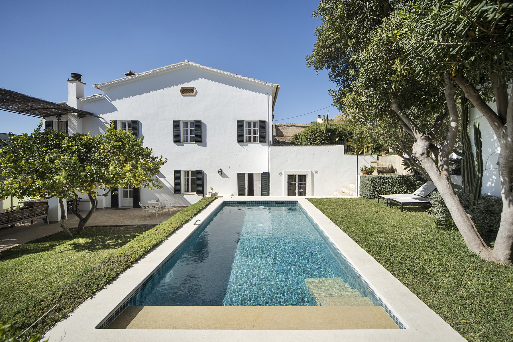 Single Family Home for Sale at Charming house with sea views in Bonanova Palma, Mallorca, Spain