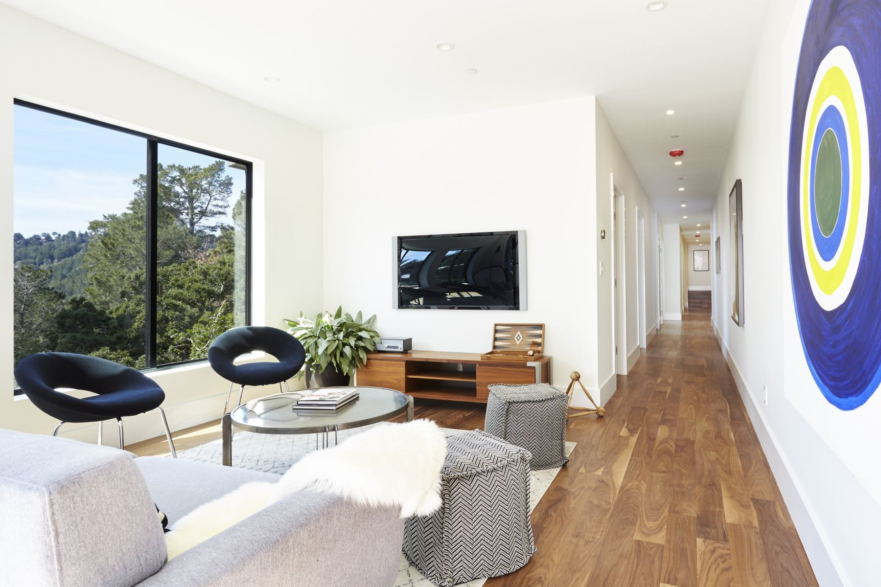 Additional photo for property listing at New Construction in Mill Valley - a Modern Masterpiece 575 Summit Avenue Mill Valley, California 94941 United States
