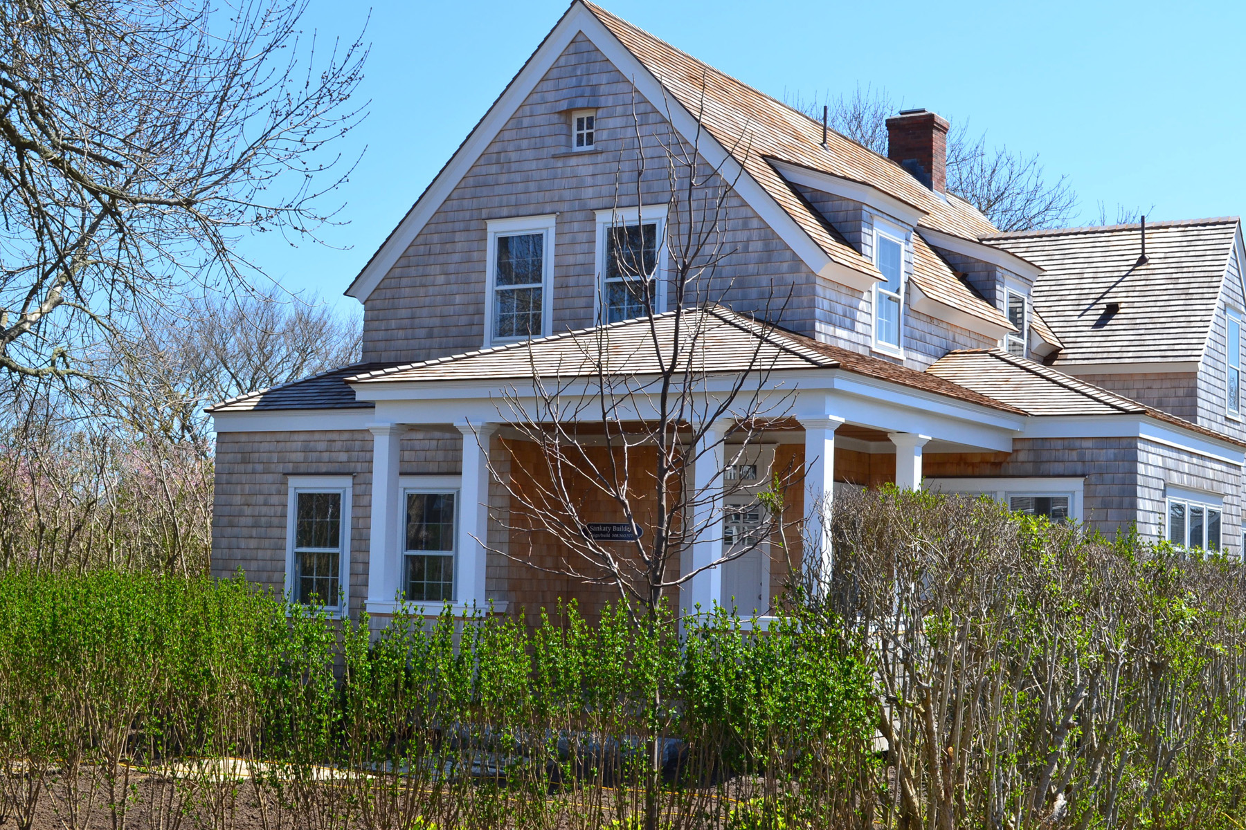 Single Family Home for Sale at Beautiful New Home 5 Bunker Hill Road Nantucket, Massachusetts, 02564 United States