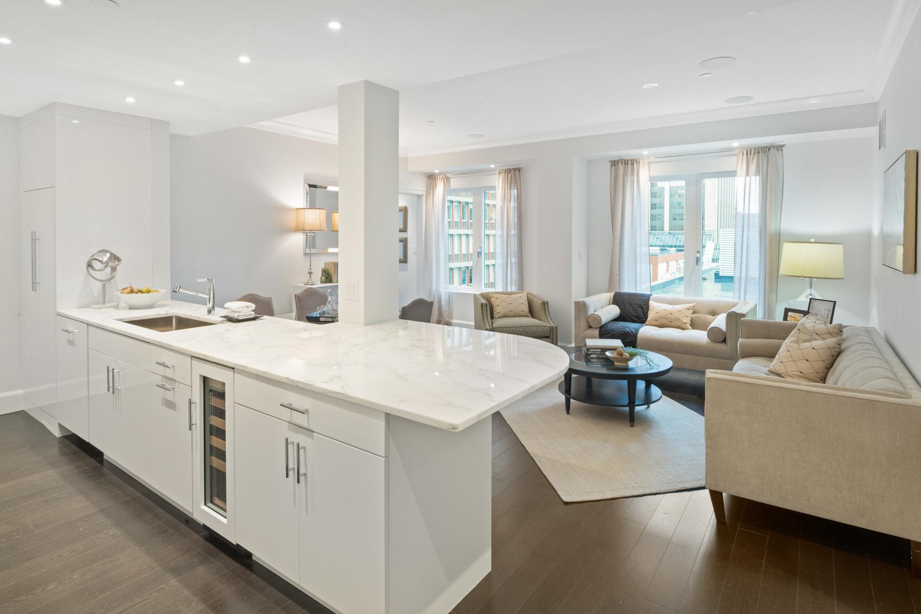 Condominium for Sale at Ultimate Living Experience At The Mandarin 778 Boylston Street Unit 7E, Boston, Massachusetts 02116 United States