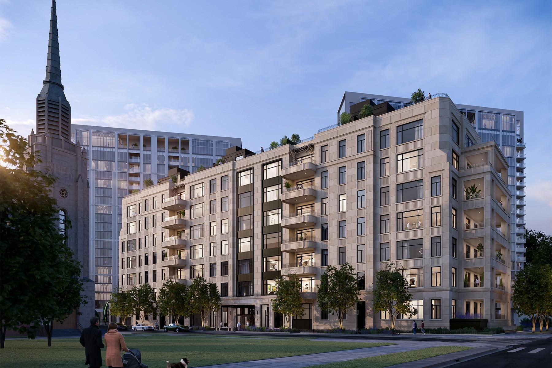Condominiums para Venda às The Orchard Private Residences 2350 N Orchard Street Unit 708 PH, Chicago, Illinois 60614 Estados Unidos