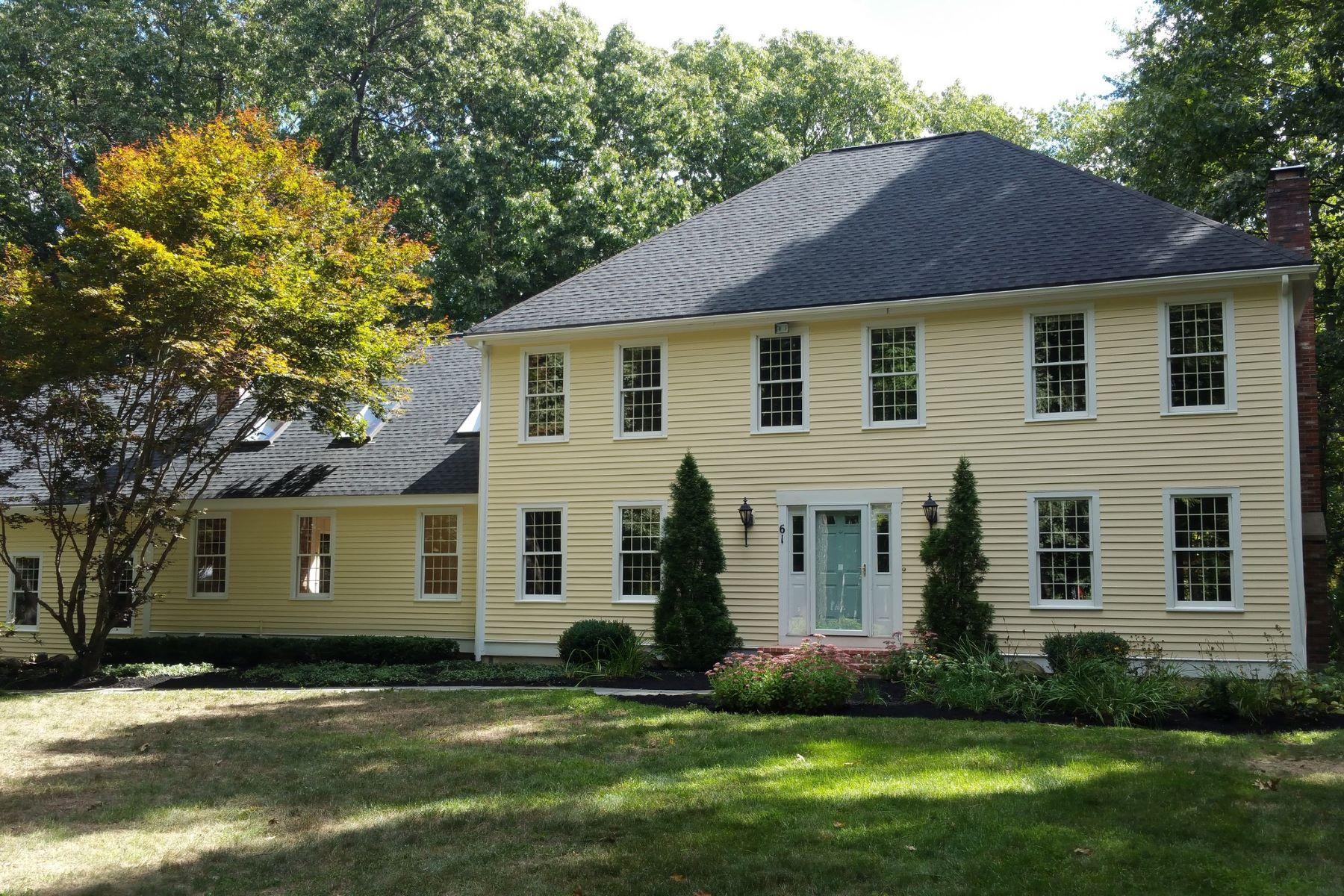 獨棟家庭住宅 為 出售 在 Updated Colonial steps from Estabrook Woods 61 Estabrook Road Carlisle, 麻塞諸塞州, 01741 美國
