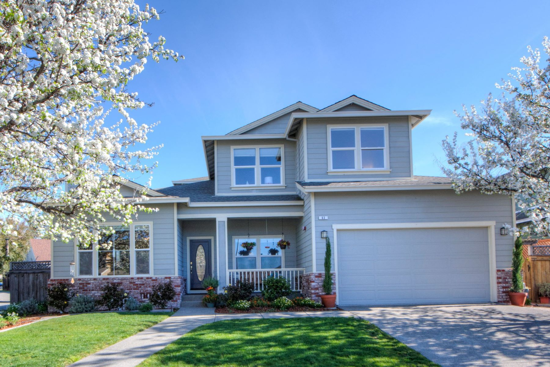 Single Family Home for Sale at Captivating Large 1998 Traditional Home 63 Montevideo Way San Rafael, California, 94903 United States