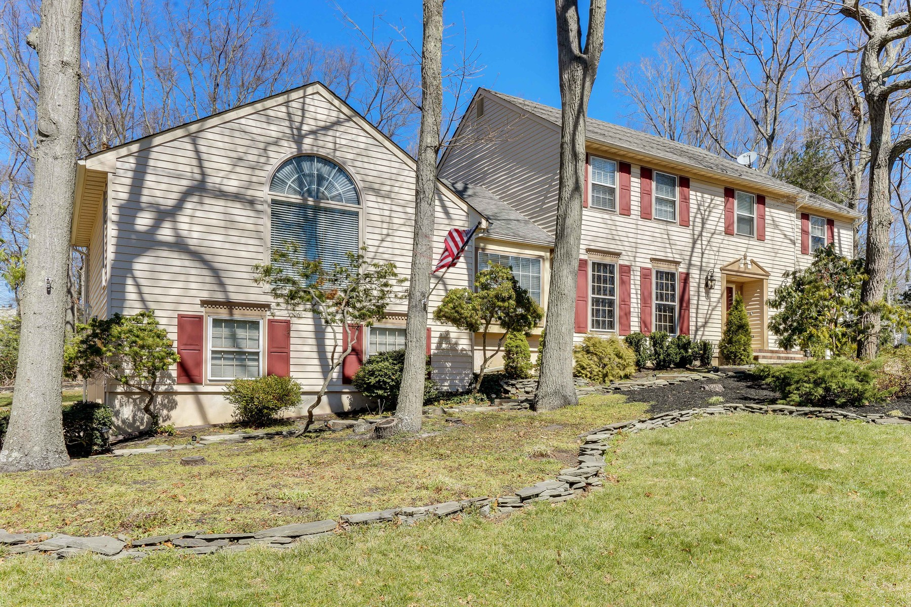 Single Family Home for Sale at Spacious Manasquan Colonial 1530 Toboggan Run Manasquan, New Jersey, 08736 United States