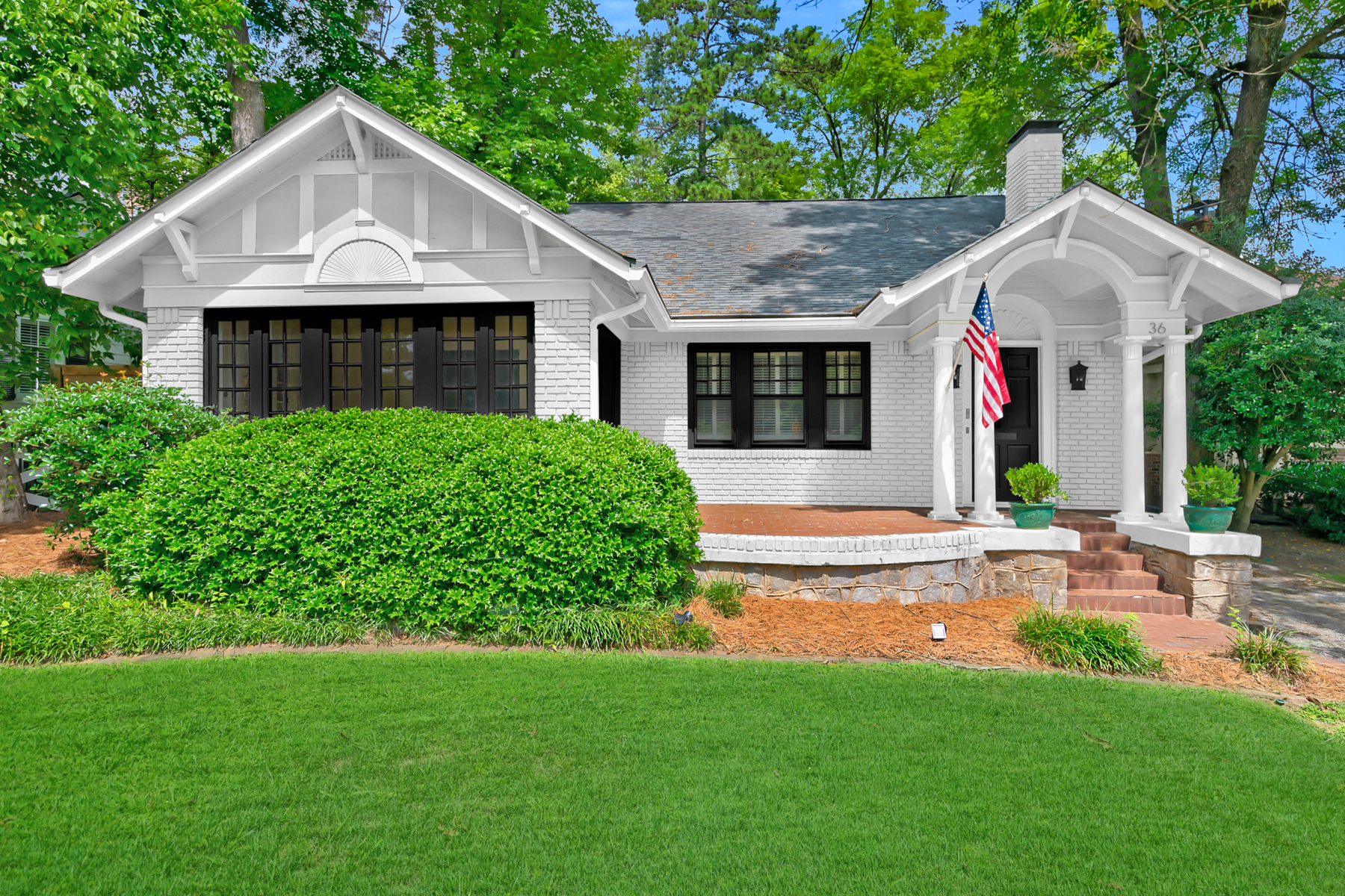 Single Family Homes for Sale at Located Directly Across The Street From Ansley Golf Course 36 Polo Drive NE Atlanta, Georgia 30309 United States