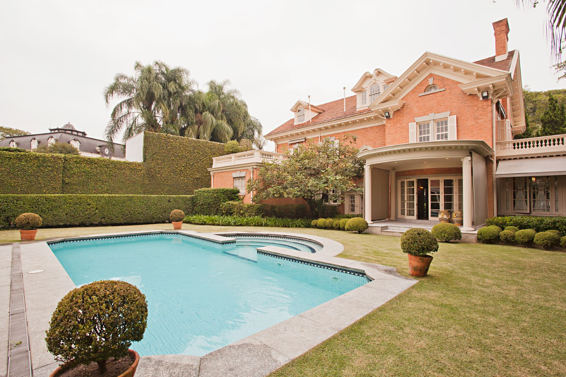 Single Family Home for Sale at Refinement and Extensive Grounds Sao Paulo, Sao Paulo 01437050 Brazil