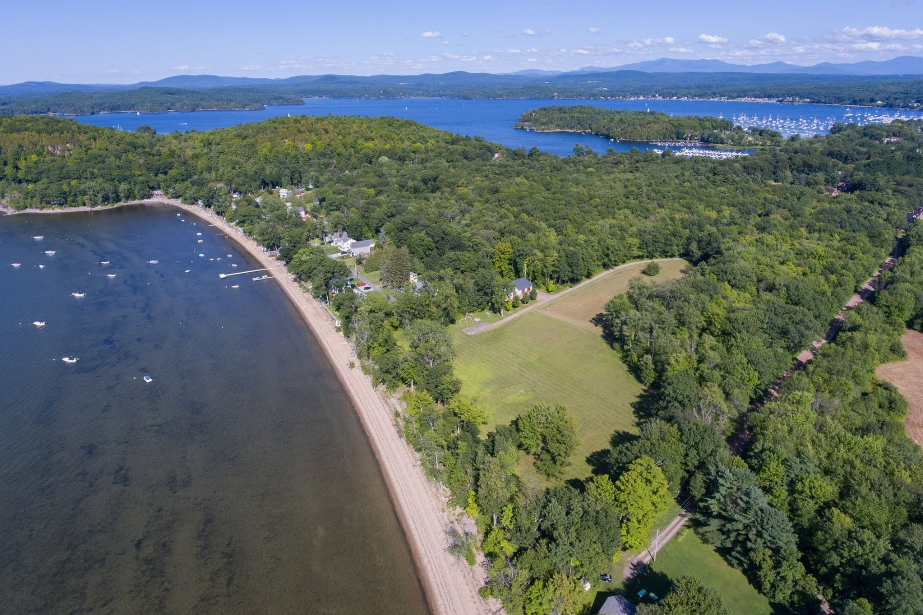 Single Family Homes for Sale at Build Your Dream Home on the Beach 10 Thayer Beach Rd Colchester, Vermont 05446 United States