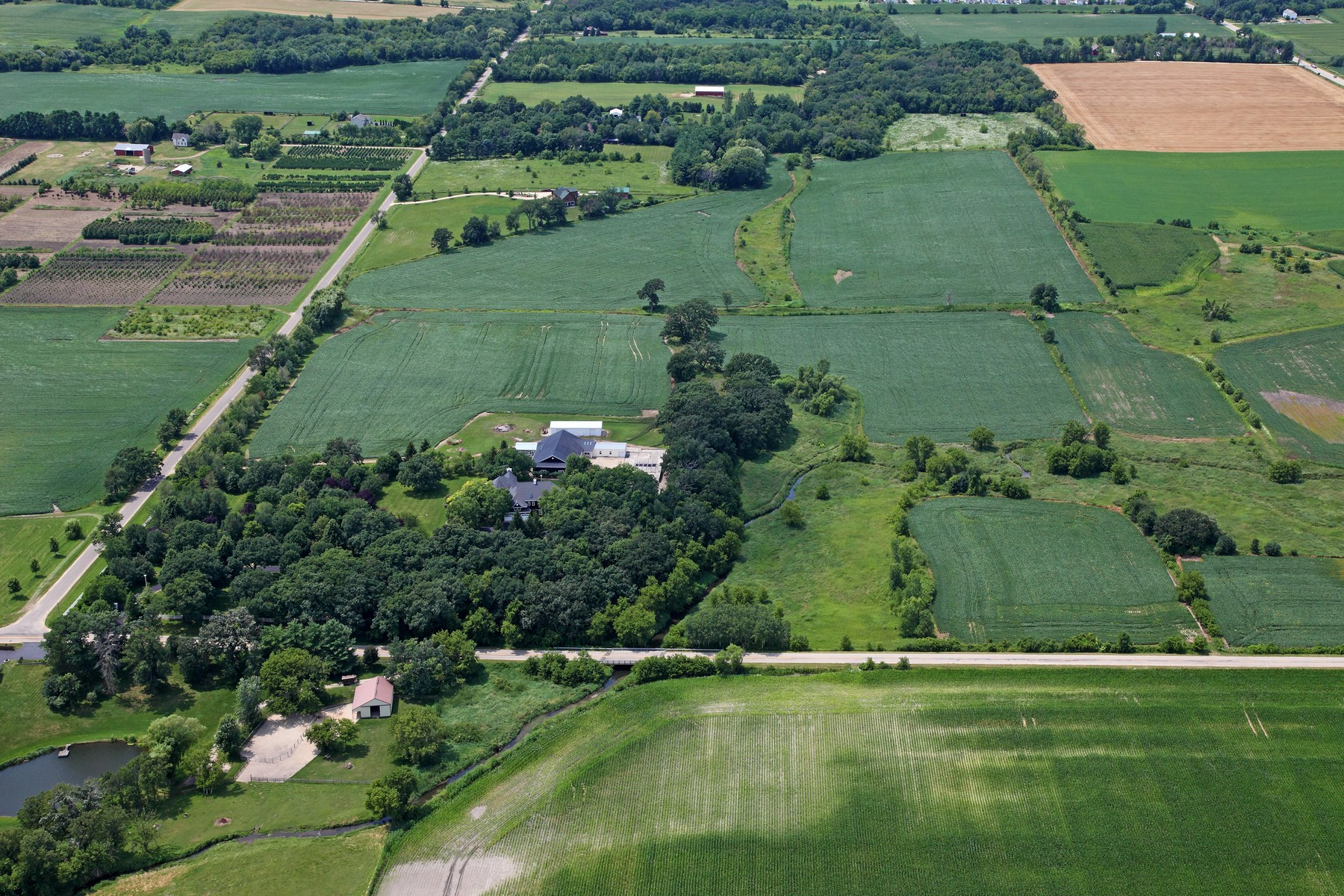 Land for Active at Buildable Parcel 0 Cemetary Road Capron, Illinois 61012 United States