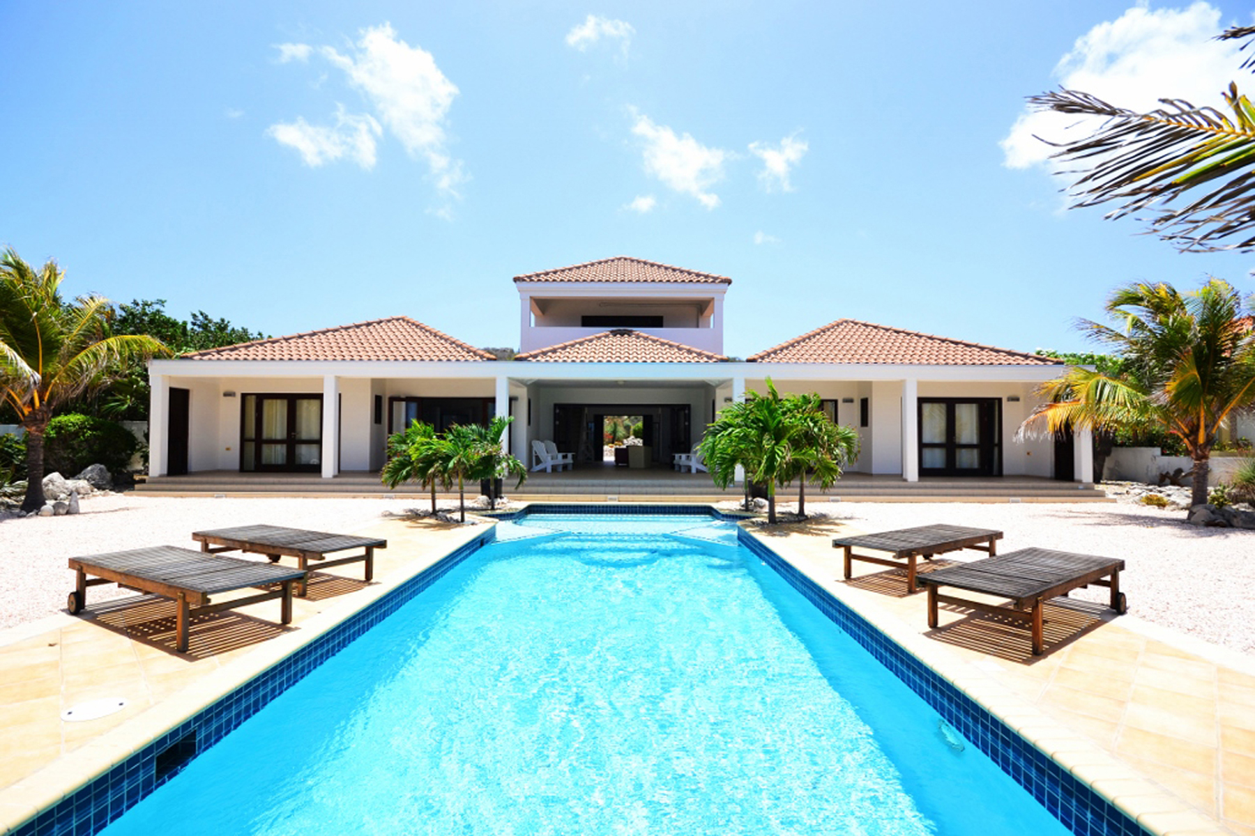 Single Family Home for Sale at Coral Estate Oceanfront Villa Santa Barbara Plantation, Curacao