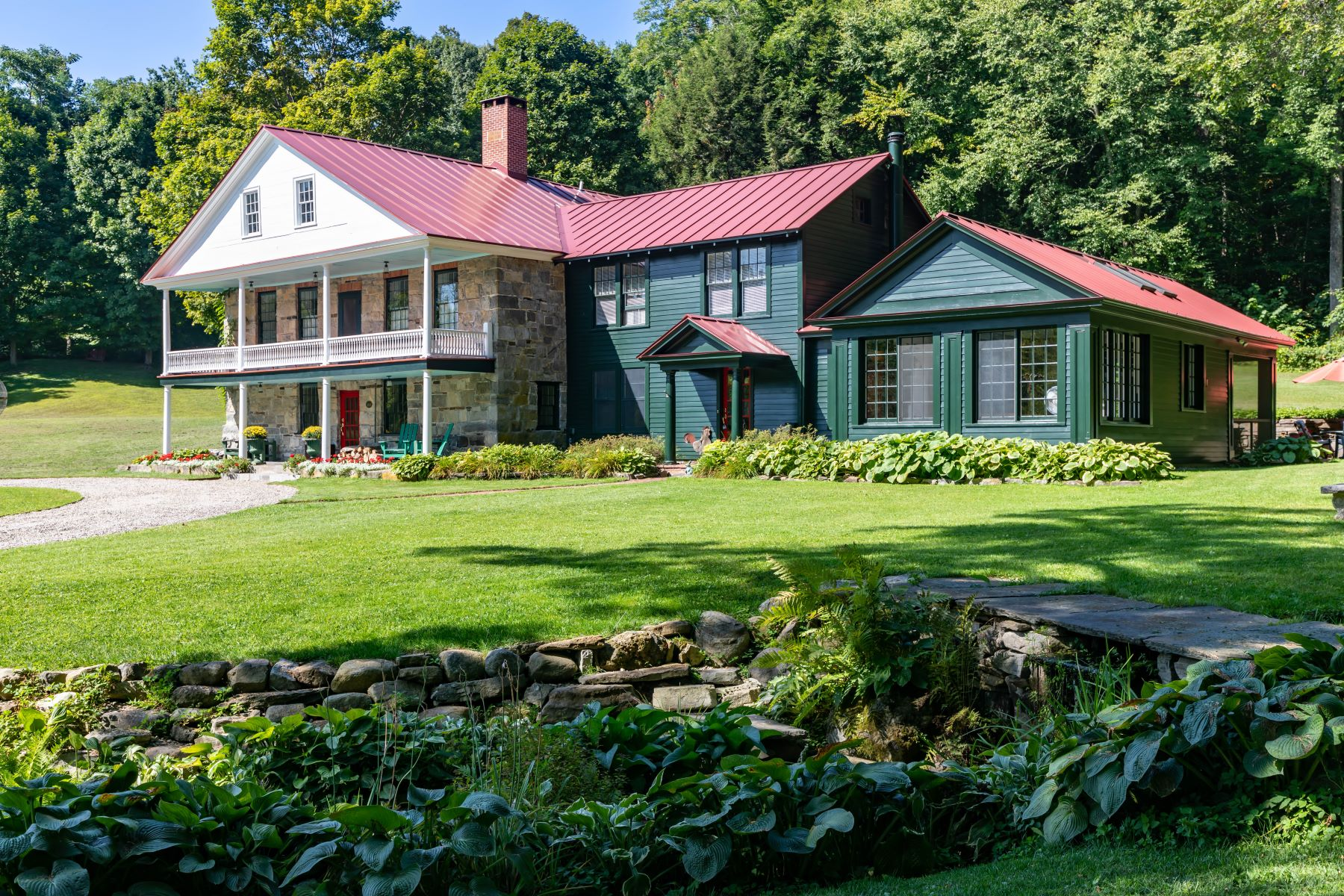 Single Family Homes for Sale at Beautifully Updated Historic Renovation 136 Parkhurst Rd. Gansevoort, New York 12831 United States