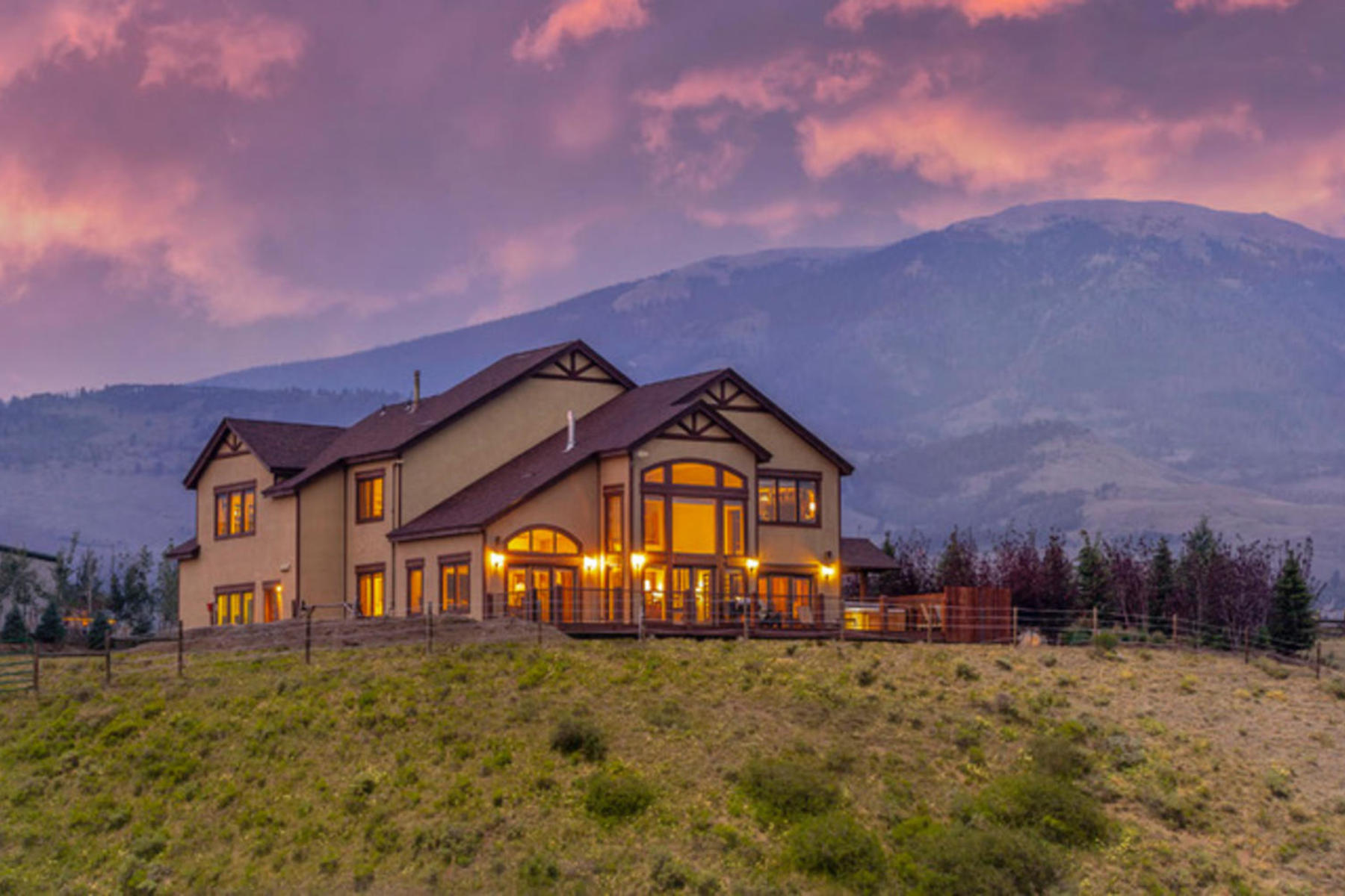 Single Family Homes for Sale at A Horse lovers Dream Ranch 888 Lindstrom Road, Silverthorne, Colorado 80498 United States