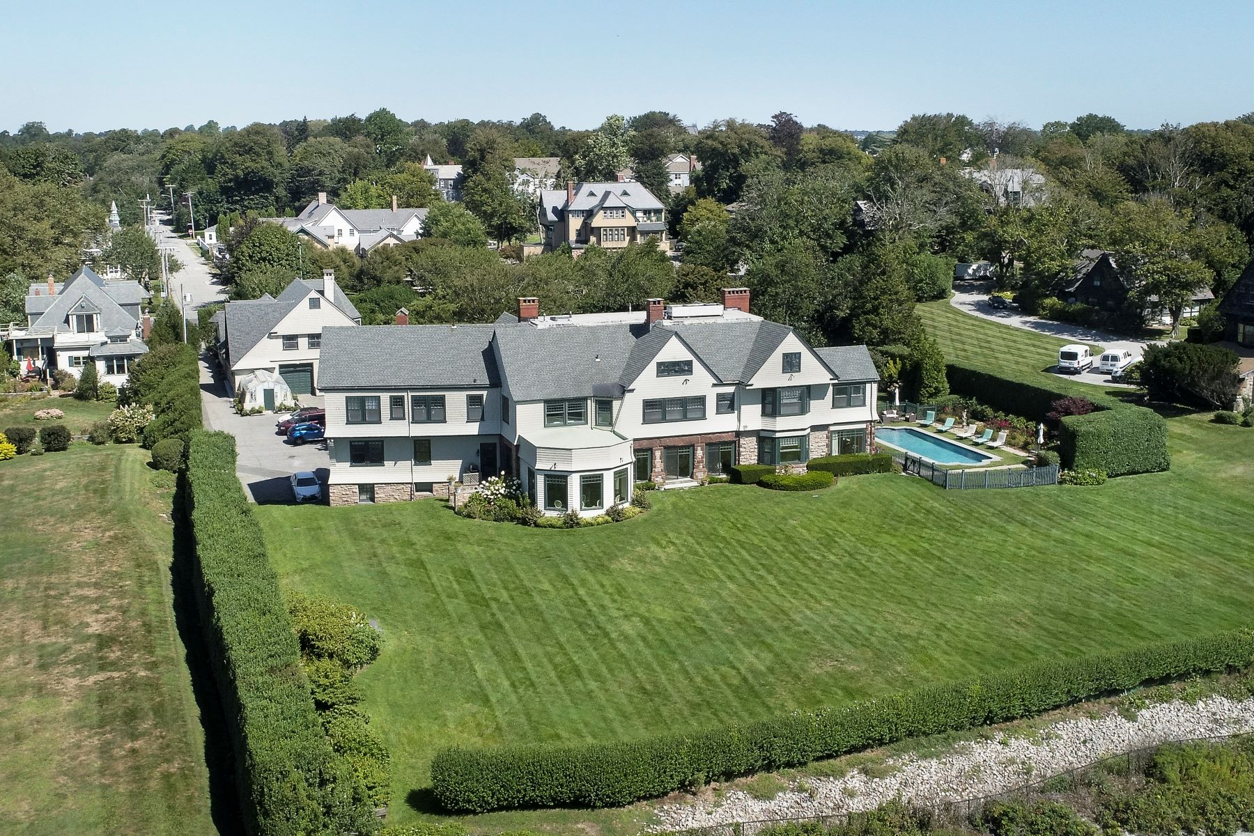 Single Family Homes for Sale at Honeysuckle Lodge 225 Ruggles Avenue Newport, Rhode Island 02840 United States