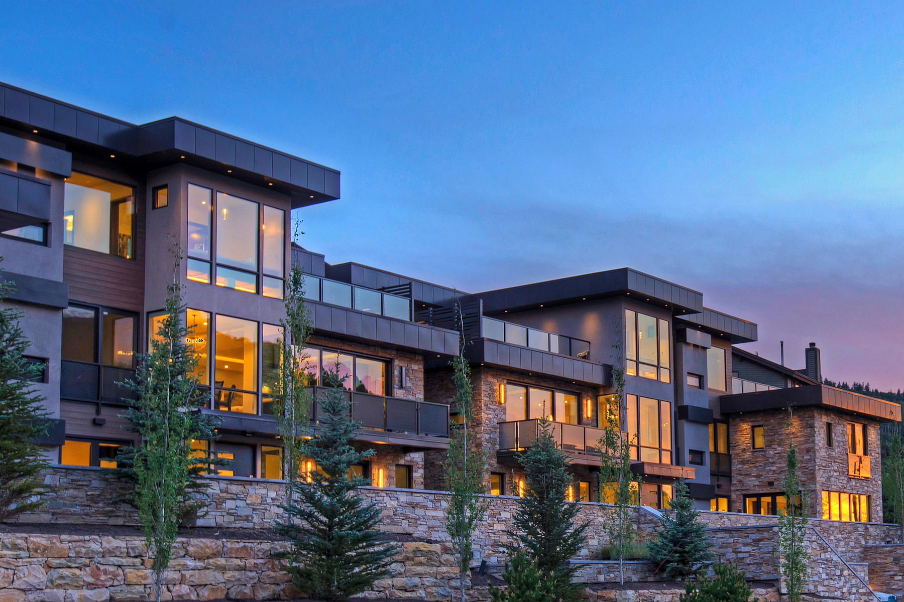 Single Family Home for Sale at New Contemporary Construction in Old Town 300 Deer Valley Lp #A Park City, Utah, 84060 United States