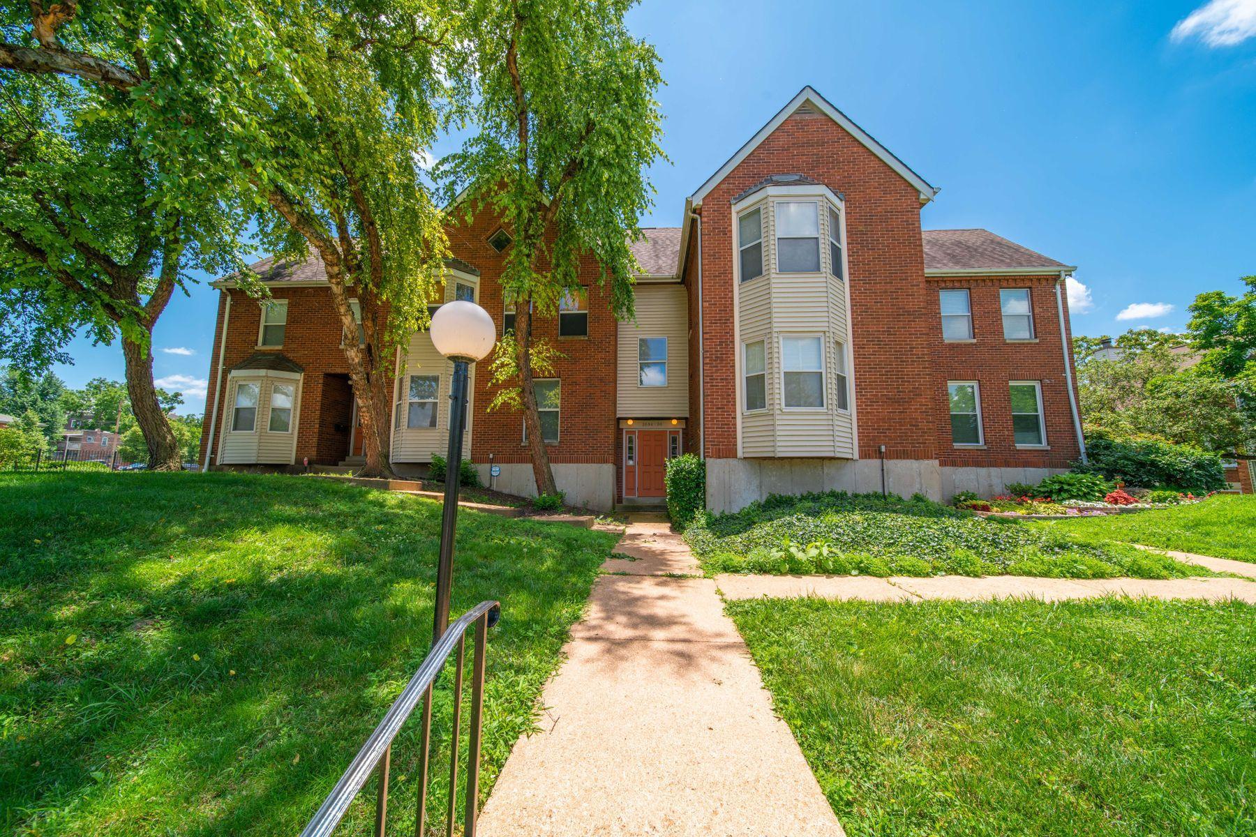 Condominiums for Rent at Park Avenue Condo 2606 Park Avenue #C2 St. Louis, Missouri 63104 United States
