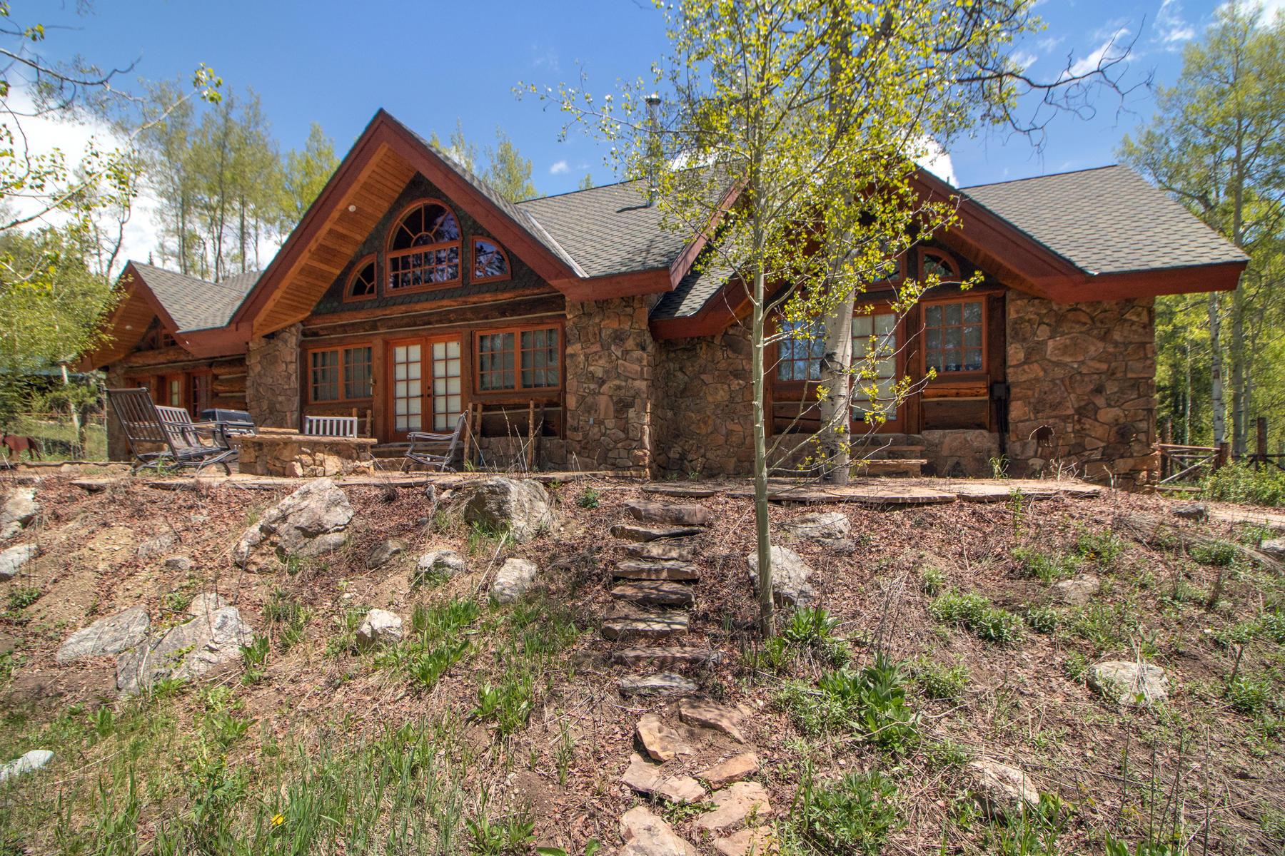 Single Family Homes 용 매매 에 An Authentic Rocky Mountain Sanctuary 1041 GCR 848 & 590 GCR 8384, Fraser, 콜로라도 80442 미국