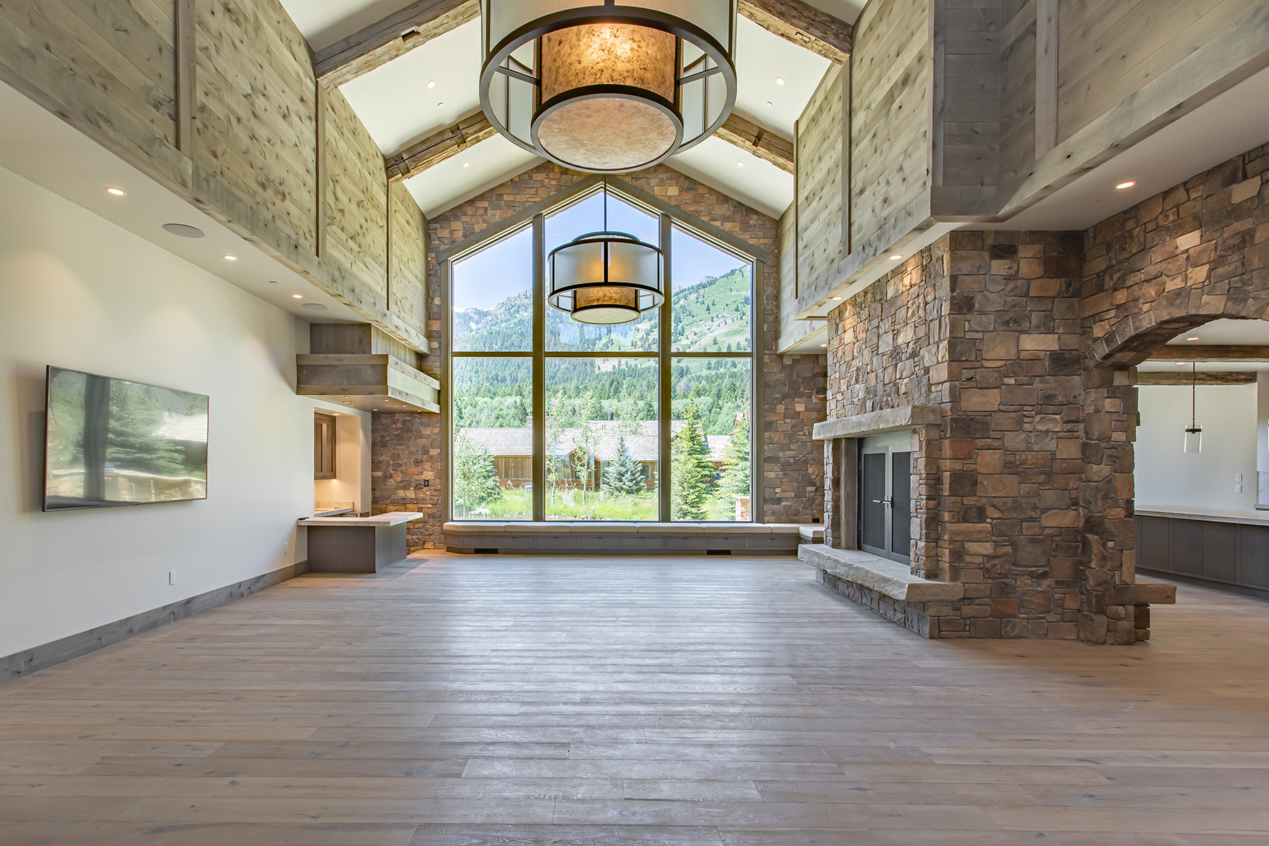 Single Family Homes للـ Sale في Elegant & Modern Shooting Star Residence 7085 Jensen Canyon Road, Teton Village, Wyoming 83025 United States