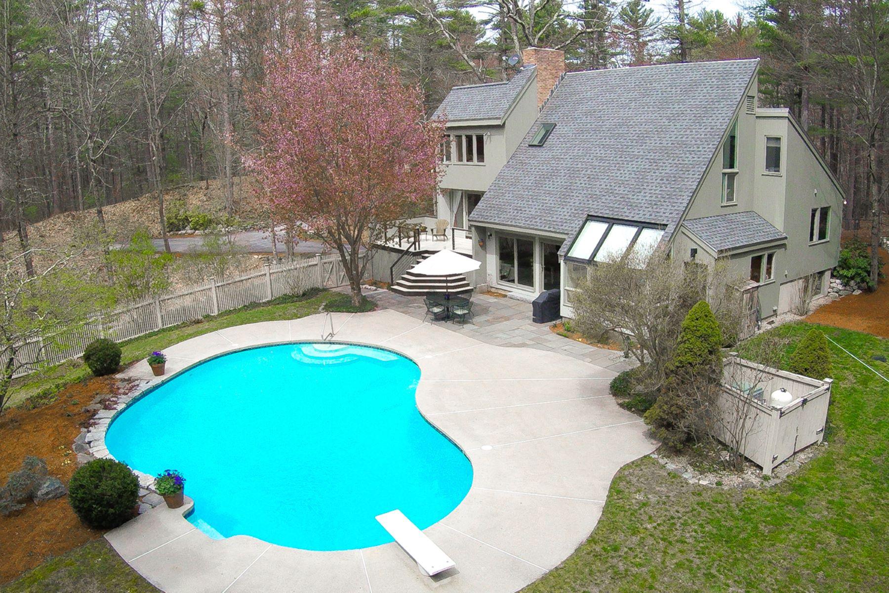 獨棟家庭住宅 為 出售 在 Acorn Contemporary 63 Carleton Road Carlisle, 麻塞諸塞州, 01741 美國