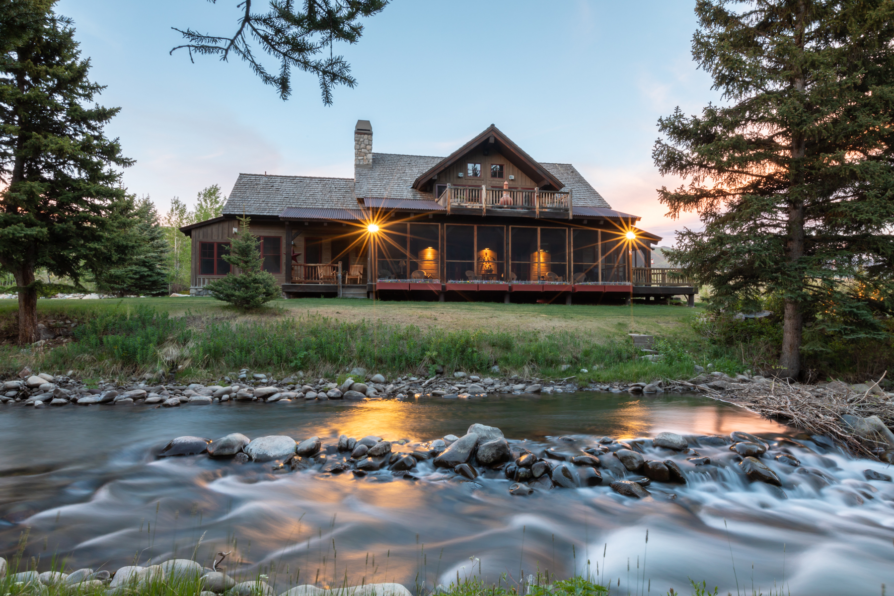 Single Family Home for Active at Private Estate on the East River 507 S Ranch Road Crested Butte, Colorado 81224 United States