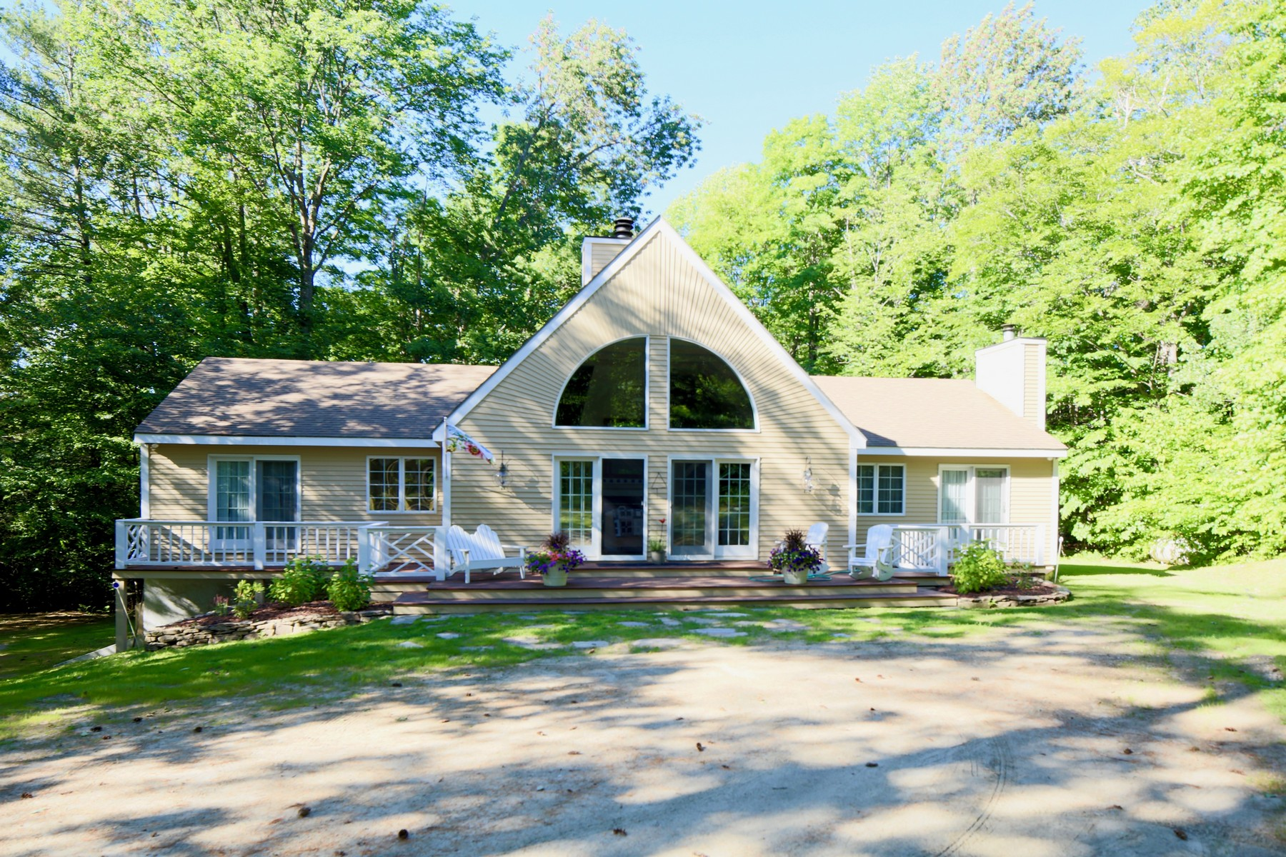 Single Family Homes for Sale at South Hill Contemporary 113 Ellison Loop Ludlow, Vermont 05149 United States