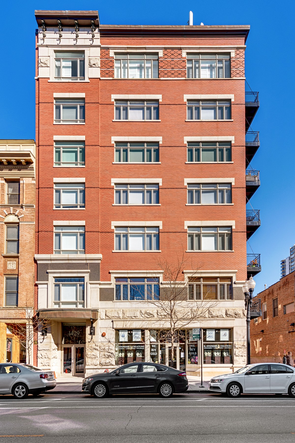 Appartement en copropriété pour l Vente à South facing Condo in Awesome Boutique Building 1429 N Wells Street Unit 503 Near North Side, Chicago, Illinois, 60610 États-Unis