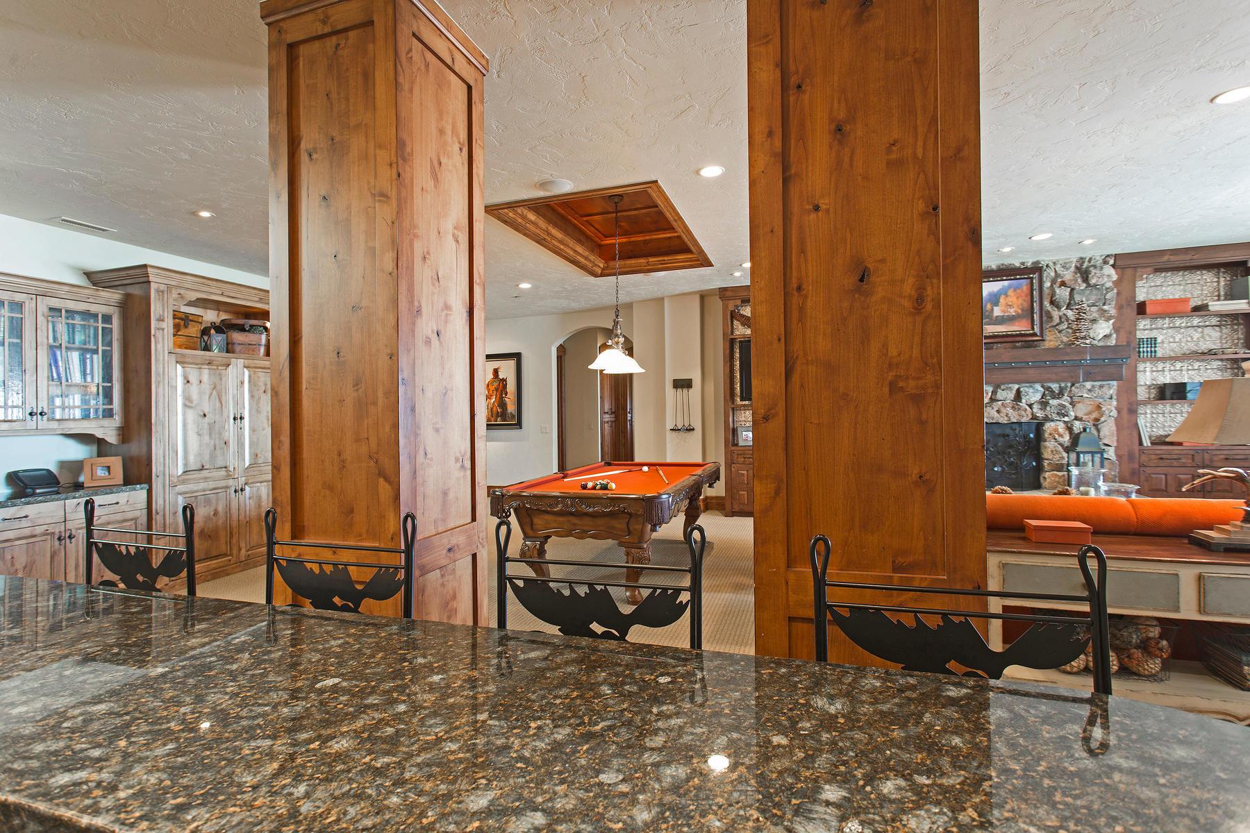Additional photo for property listing at Casa Cielo, Above the Clouds in Deer Crest 3300 W Deer Crest Estates Dr Park City, Utah 84060 United States