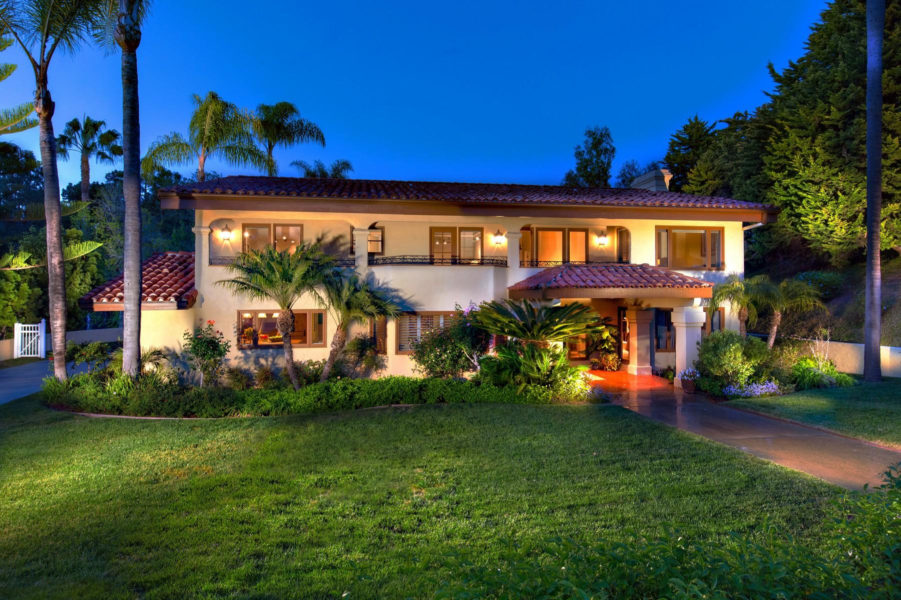 단독 가정 주택 용 매매 에 4326 Vista de la Tierra Del Mar, 캘리포니아, 92014 미국