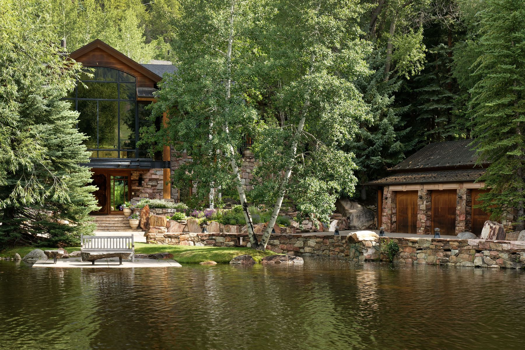 Single Family Homes for Sale at Incredible Red Mountain Opportunity 109 Willoughby Way Aspen, Colorado 81611 United States