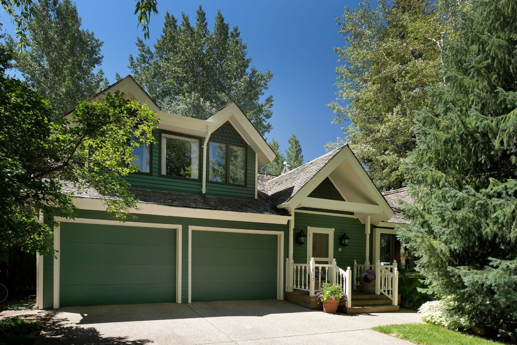 Single Family Home for Sale at Great Value in the West End 617 West Bleeker Street Aspen, Colorado 81611 United States