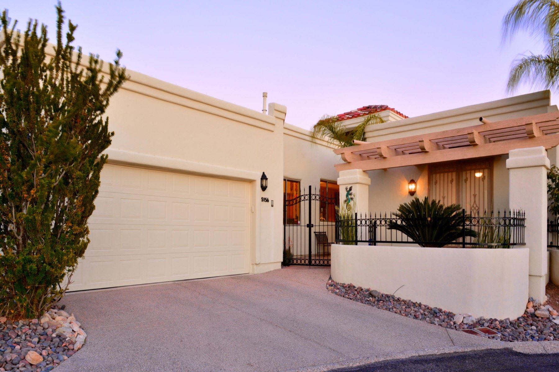 独户住宅 为 销售 在 Elegant and spacious town home 5156 E Calle Brillante 图森, 亚利桑那州, 85718 美国