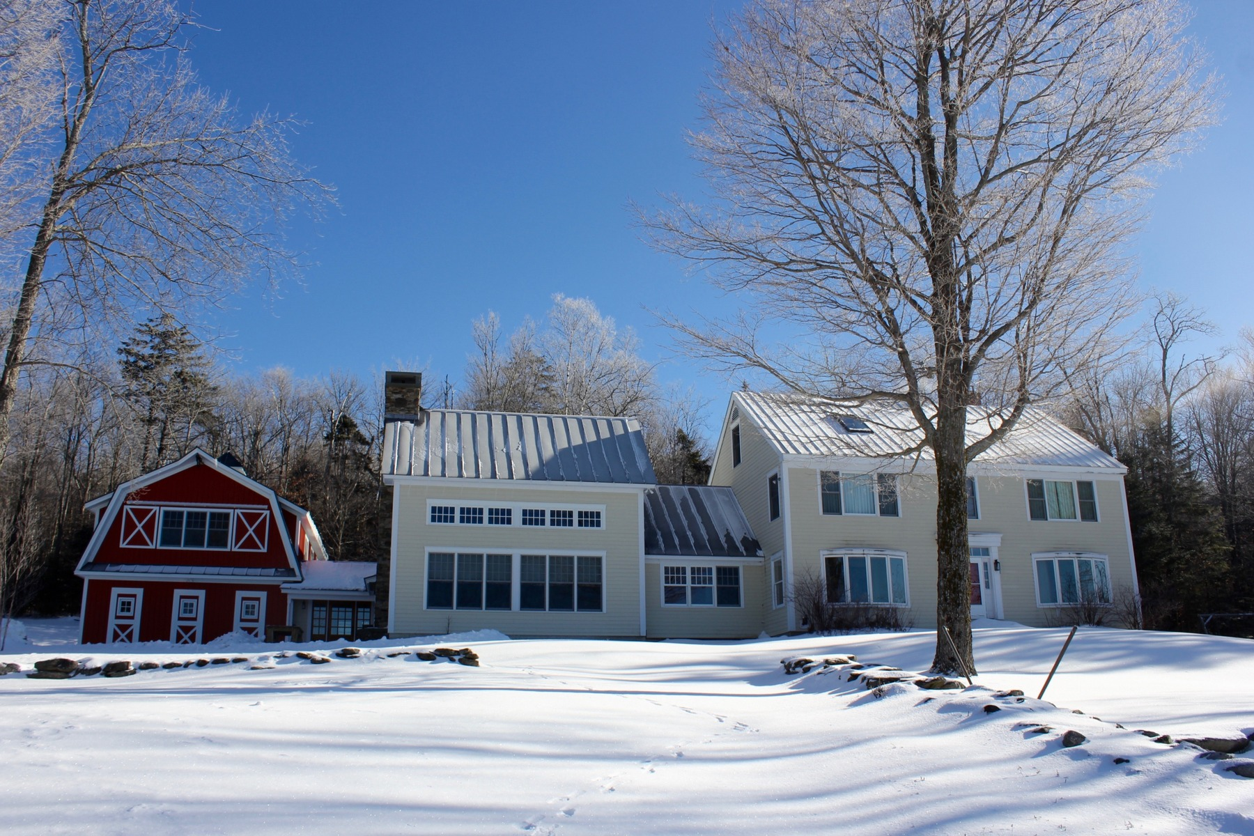 Single Family Home for Sale at Private Vermont Estate 444 Tin Shanty Rd Shrewsbury, Vermont 05738 United States