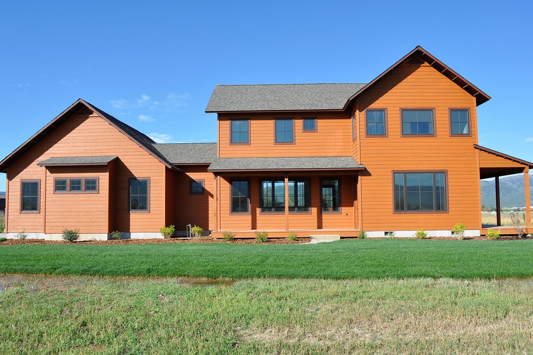 Single Family Homes for Sale at New Custom Home Aspen Lake in Victor 7264 Lakeside Rd Victor, Idaho 83455 United States
