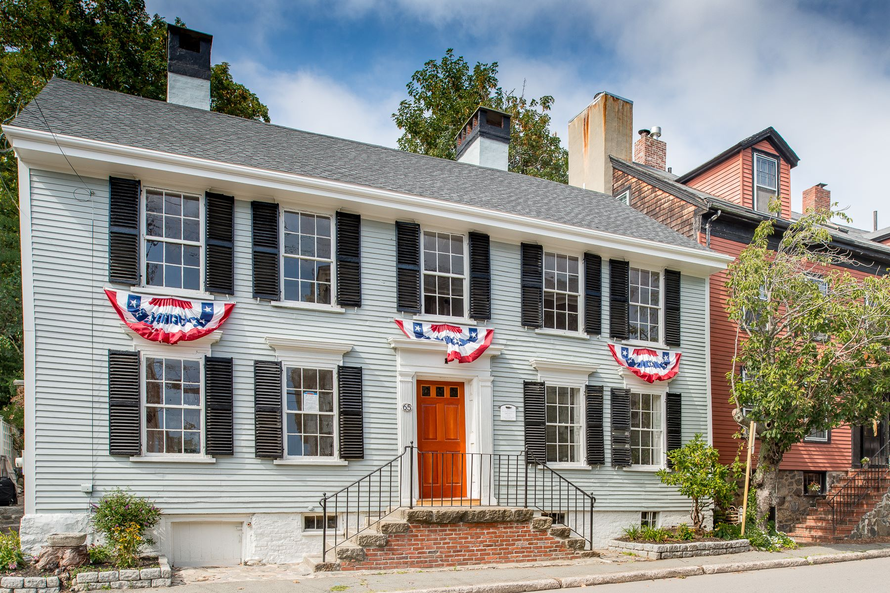 "Single Family Home for Sale at Wonderful Renovated ""Old Town"" Antique 65 Washington Street Marblehead, Massachusetts, 01945 United States"