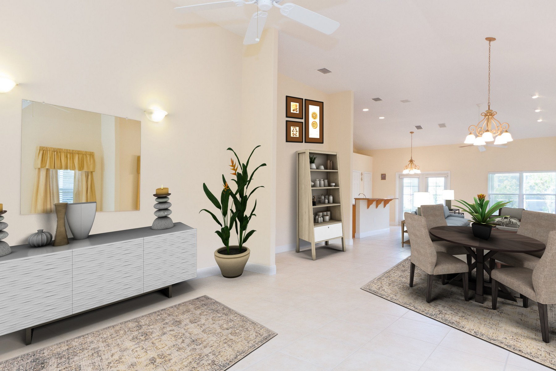 Single Family Home for Sale at Inviting Home With Generous Room Sizes and Open Concept Floorplan! 771 Brookedge Terrace Sebastian, Florida 32958 United States