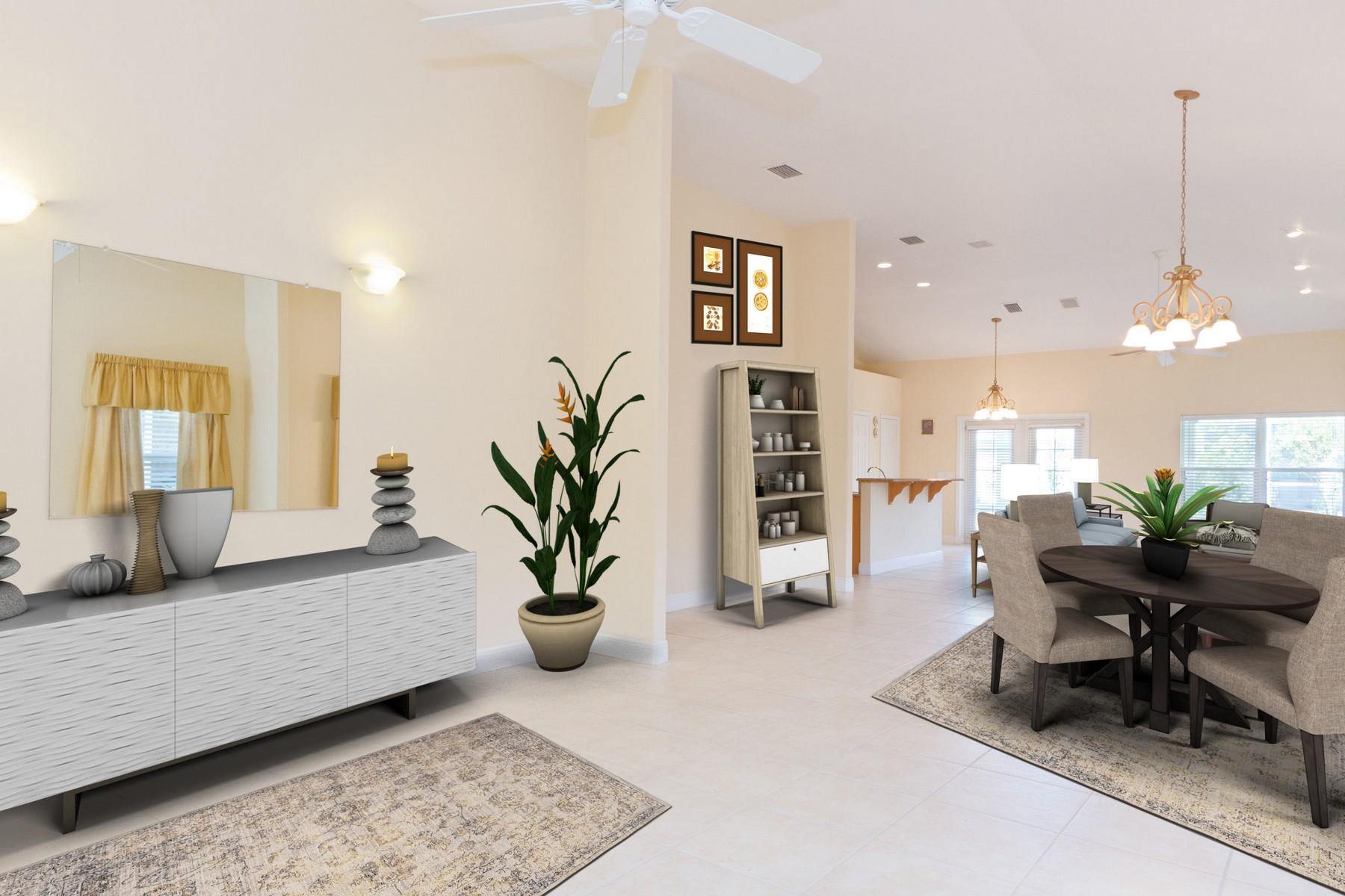 獨棟家庭住宅 為 出售 在 Inviting Home With Generous Room Sizes and Open Concept Floorplan! 771 Brookedge Terrace Sebastian, 佛羅里達州 32958 美國