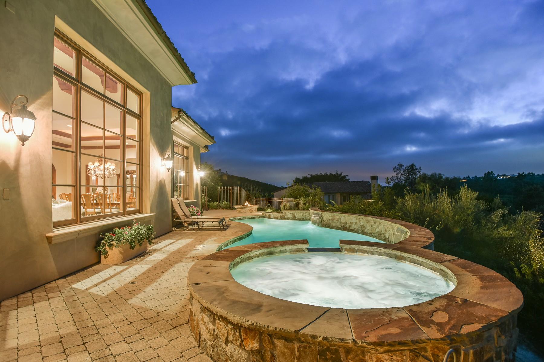 独户住宅 为 销售 在 18311 Calle Stellina Rancho Santa Fe, 加利福尼亚州, 92091 美国