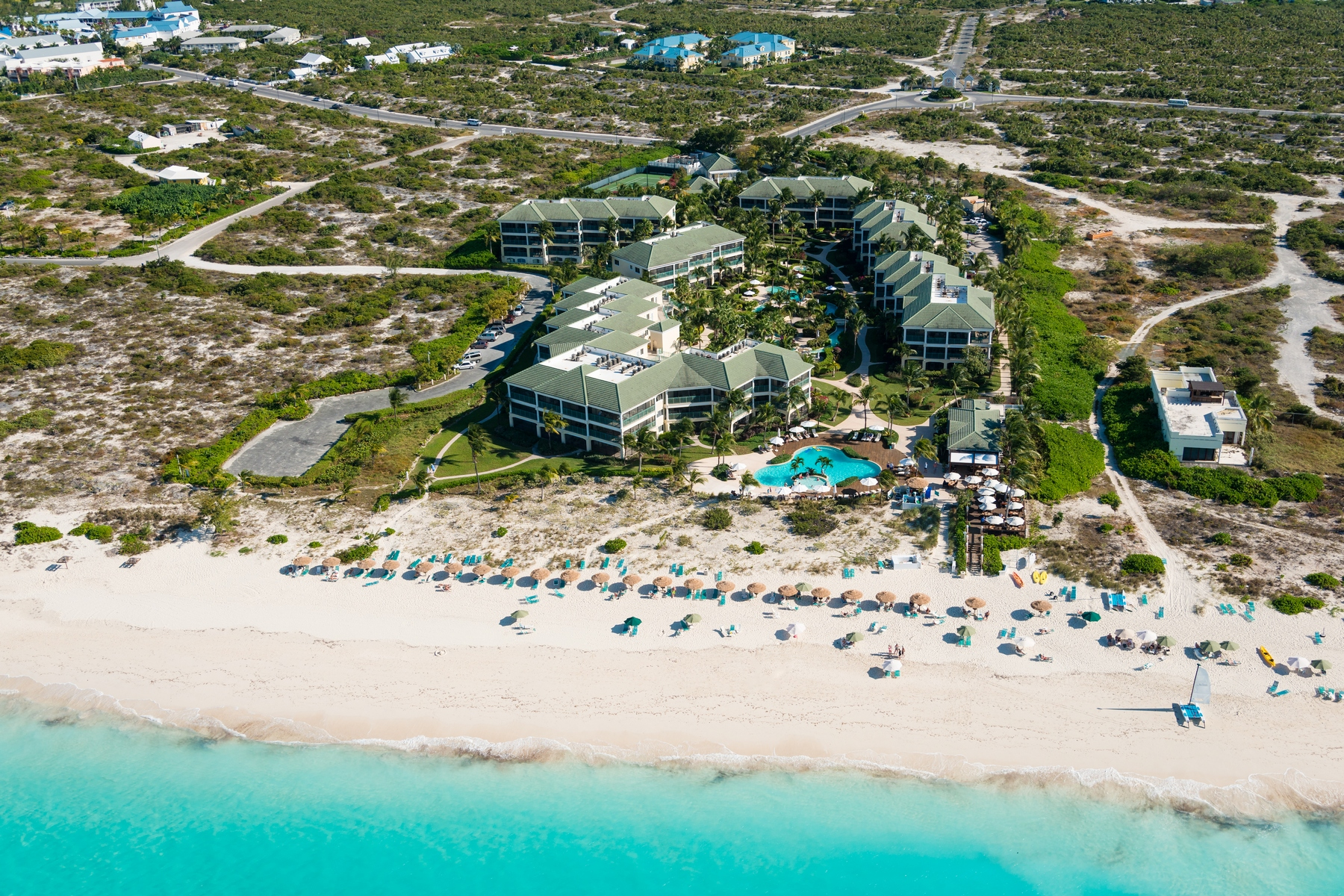 Appartement en copropriété pour l Vente à The Sands at Grace Bay - Suite 6101 Gardenview Grace Bay, Providenciales TC Îles Turques Et Caïques