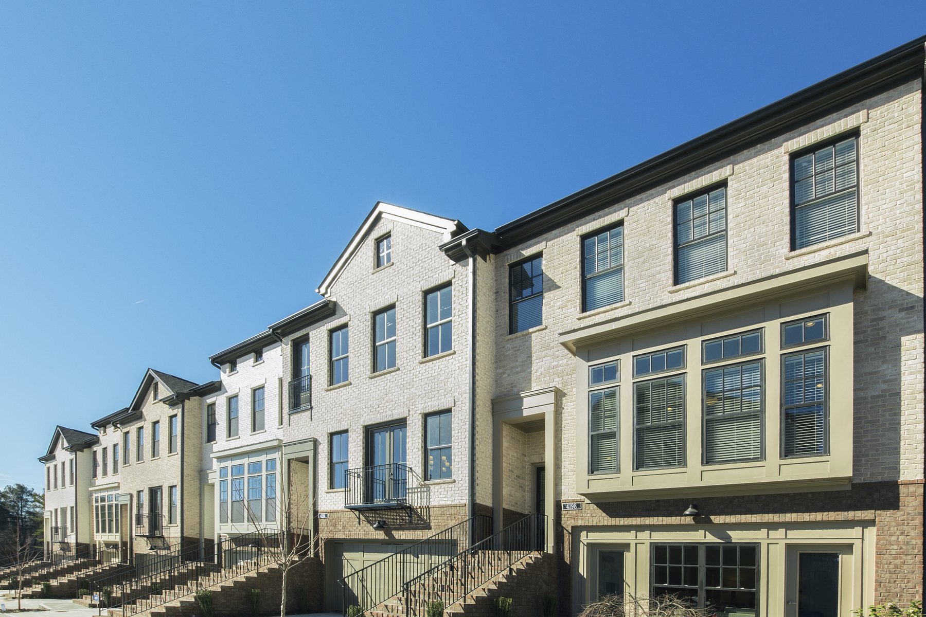Townhouse for Sale at New Construction Townhome in the Heart of Dunwoody 4330 Georgetown Square Unit 3 Dunwoody, Georgia, 30338 United States
