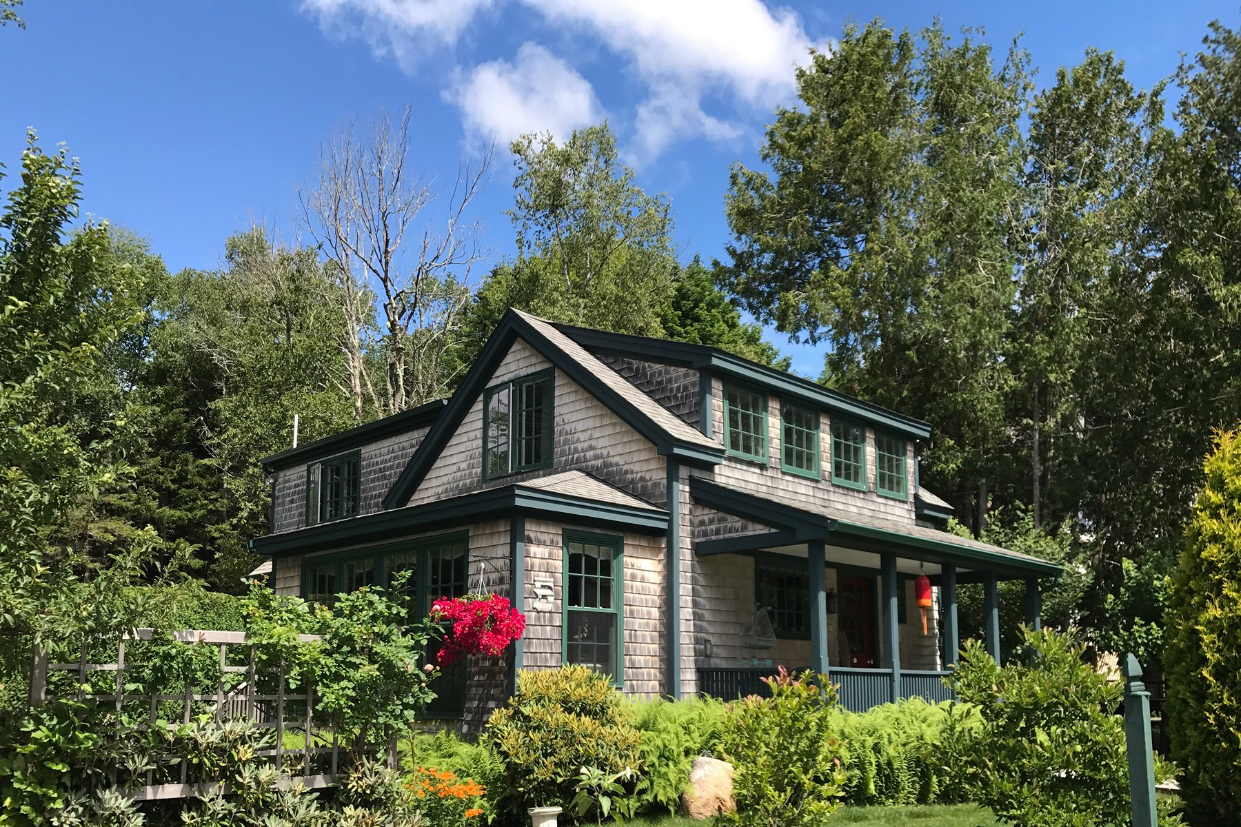 Single Family Home for Sale at Sow's Ear 5 Spruce Road, Northeast Harbor, Maine, 04662 United States