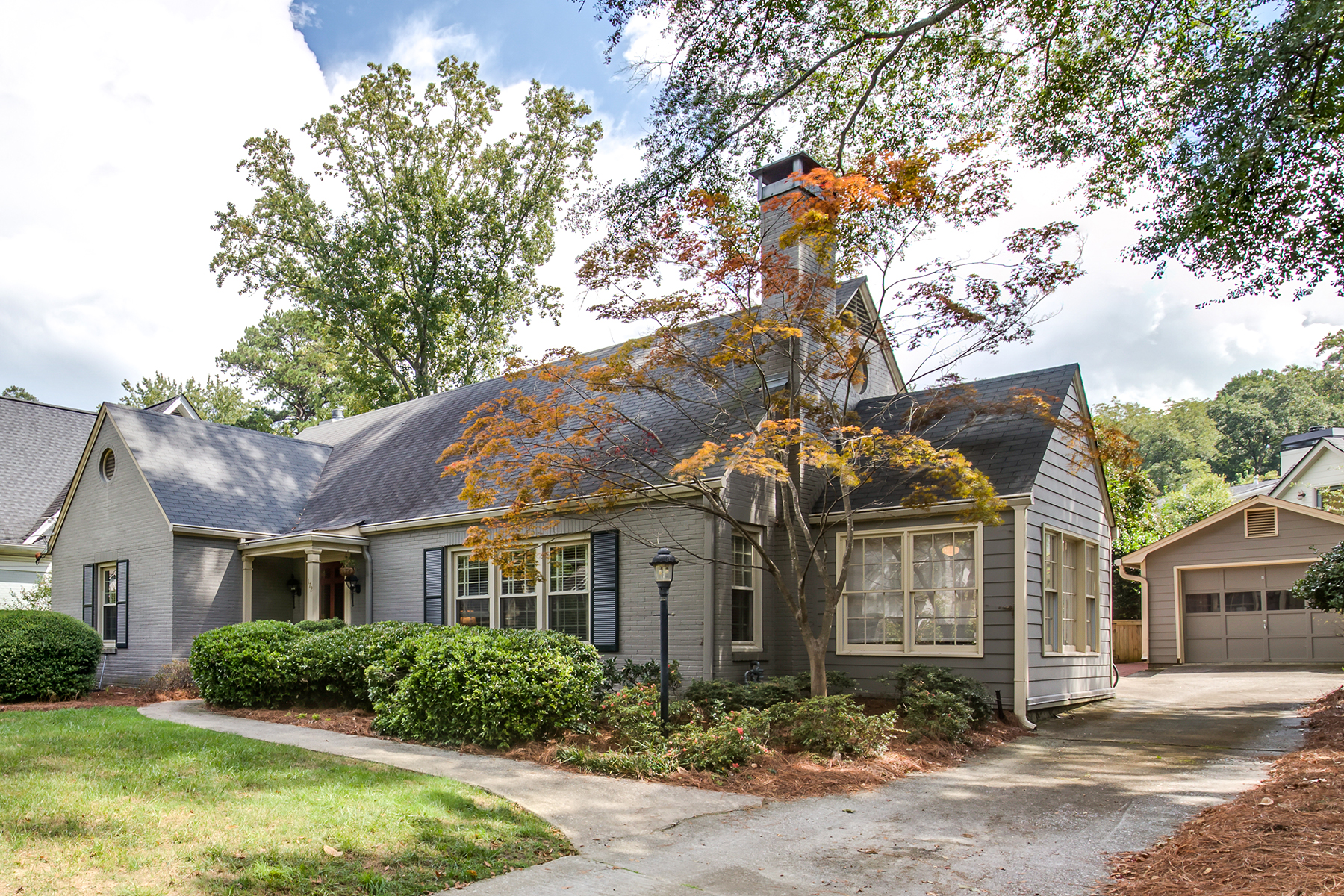 Single Family Home for Sale at Coveted Decatur Location with Private, Landscaped Backyard 172 Vidal Boulevard Decatur, Georgia 30030 United States