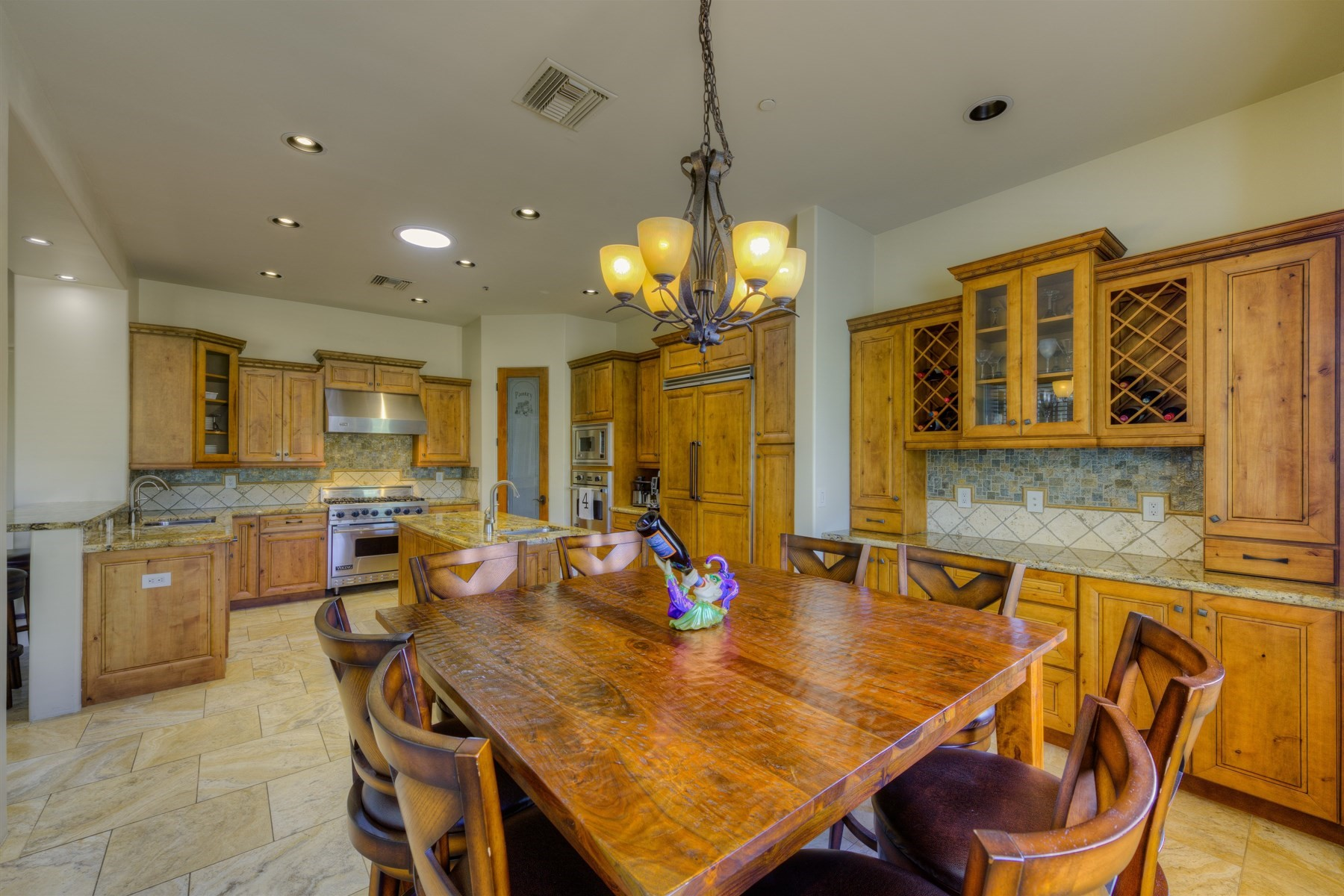 Single Family Home for Sale at Fabulous custom home in coveted Mountainside Estates 9001 S 18th Way Phoenix, Arizona, 85042 United States