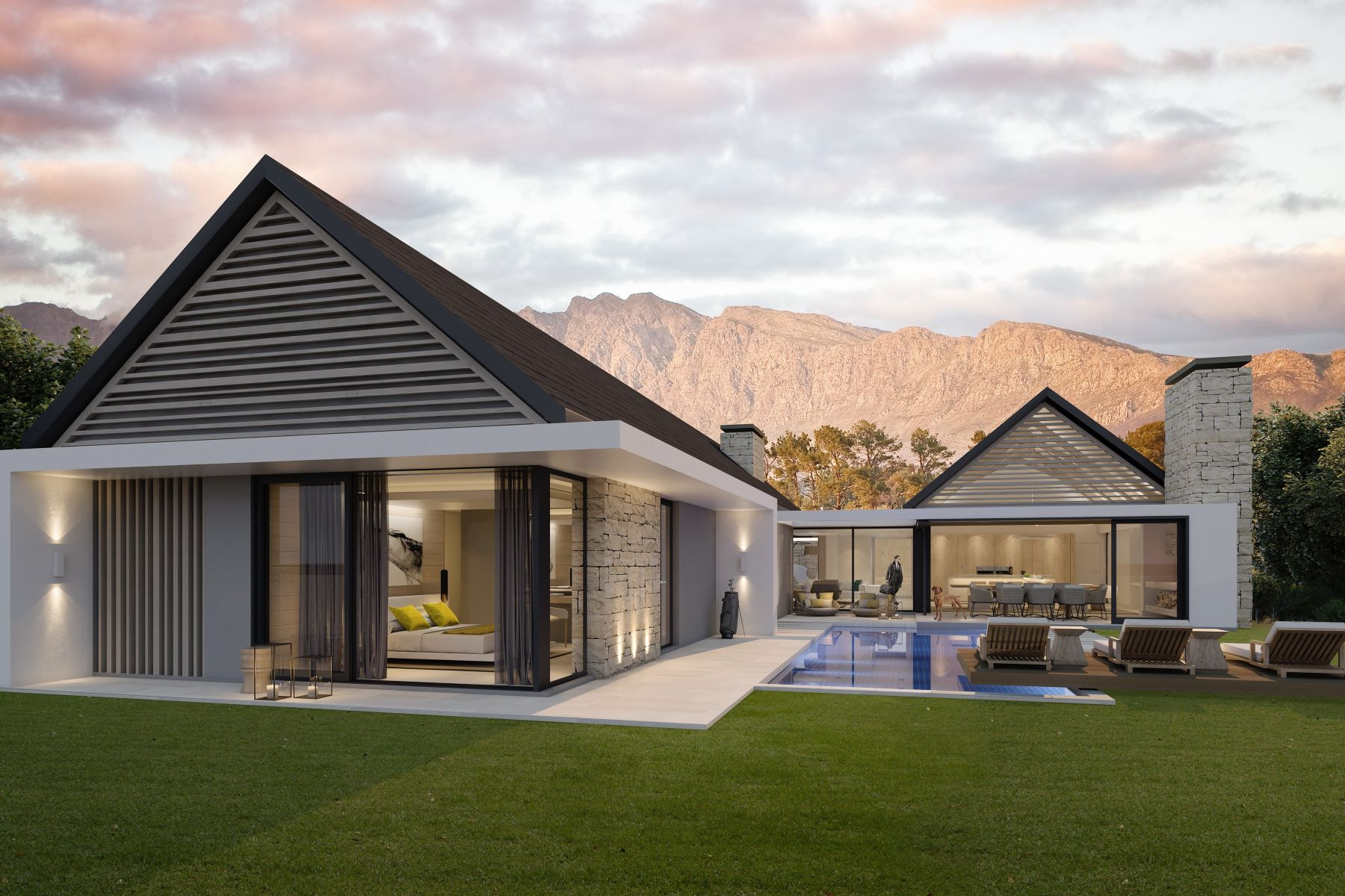 一戸建て のために 売買 アット Pearl Valley at Val de Vie Estate 566 Pearl Valley Val de Vie Estate Paarl, 西ケープ, 7646 南アフリカ