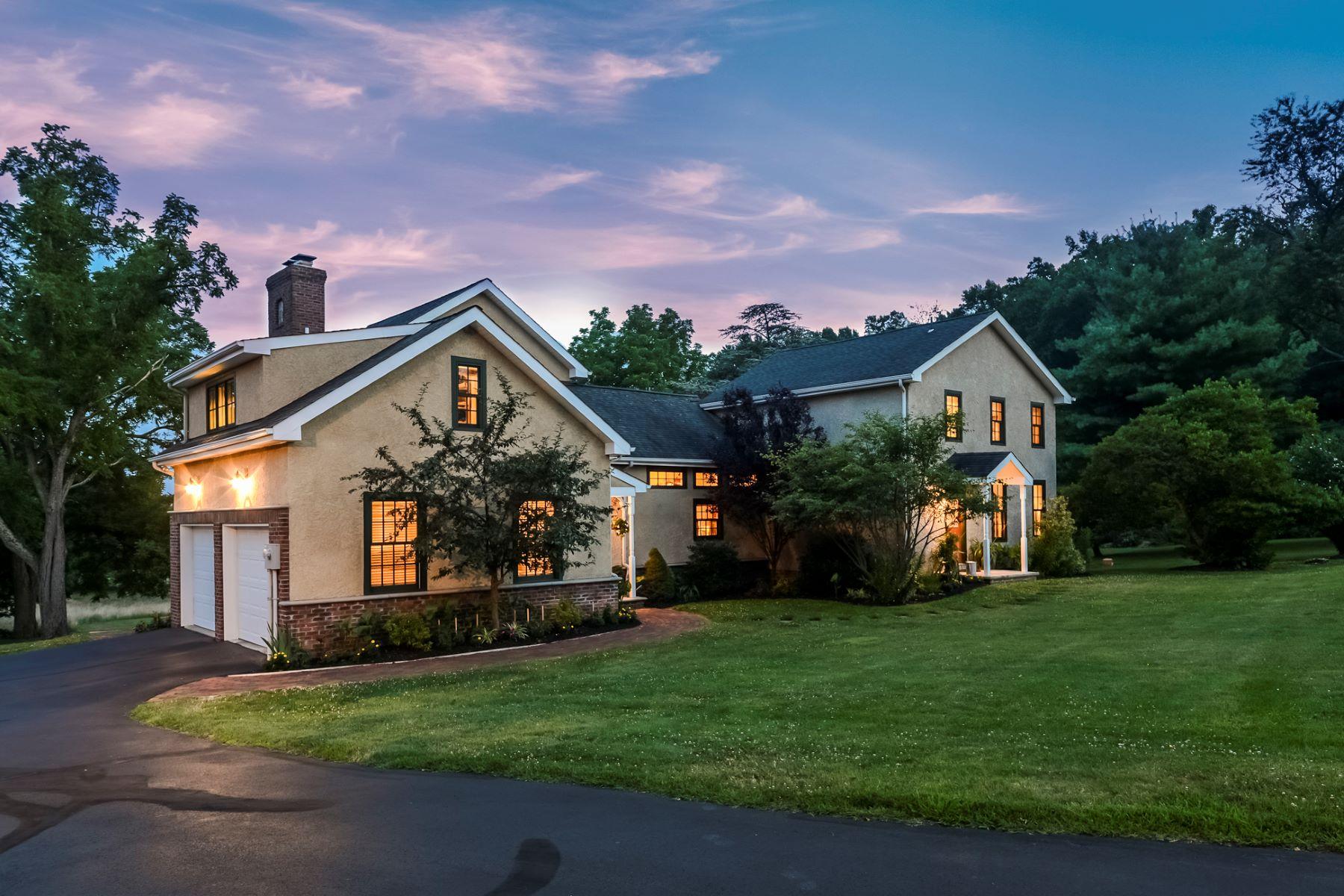 Частный односемейный дом для того Продажа на A Home For All Seasons 70 Sandy Ridge Road, Stockton, Нью-Джерси 08559 Соединенные ШтатыВ/Около: Delaware Township