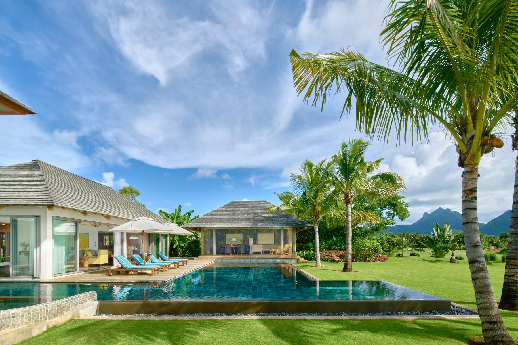 Single Family Home for Sale at Solaia Designer Golf estate, Anahita. Beau Champ, Flacq Mauritius