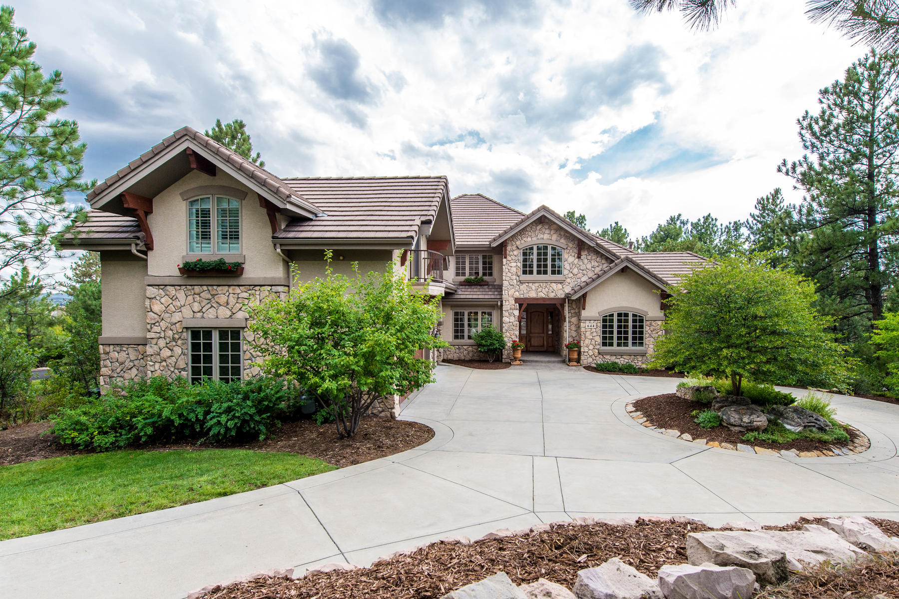 Single Family Home for Active at Capture your Colorado dream with this magnificent one-of-a-kind home that is per 644 Ruby Trust Way Castle Rock, Colorado 80108 United States