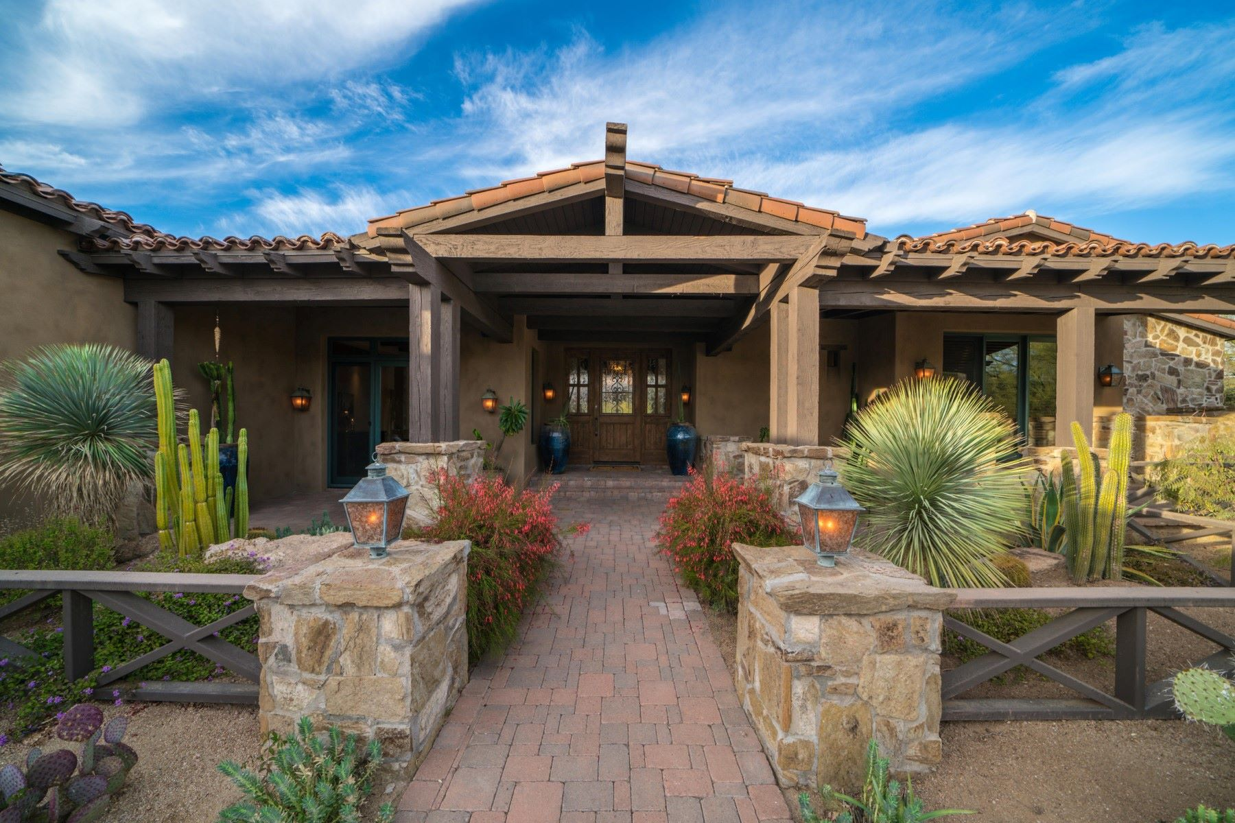 獨棟家庭住宅 為 出售 在 Timeless Ranch Inspired Home in Whisper Rock 7414 E Lower Wash Pass, Scottsdale, 亞利桑那州, 85266 美國