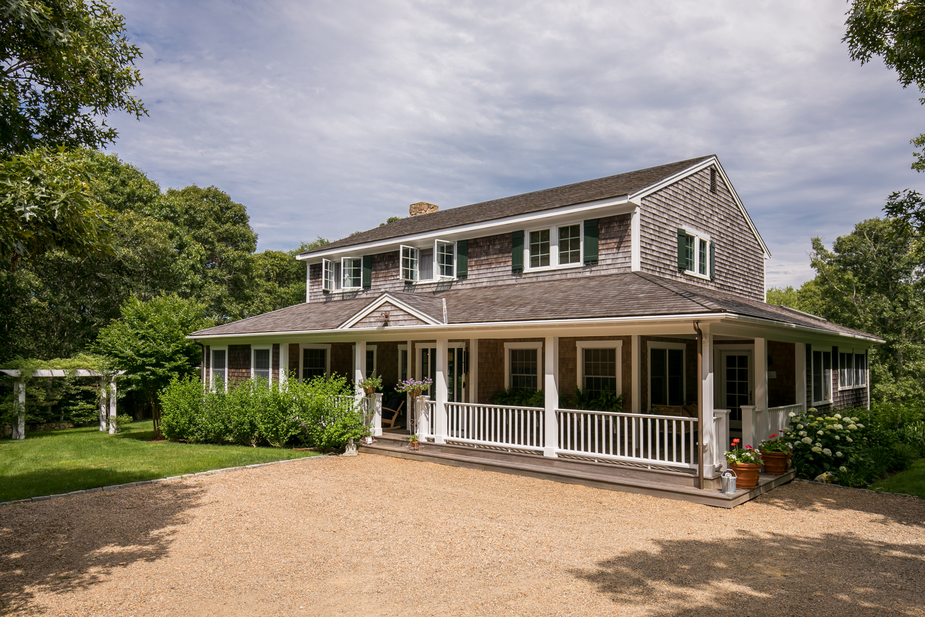 Single Family Home for Sale at Comtemporary Farmhouse in Chilmark 15 Valley Lane Chilmark, Massachusetts 02535 United States